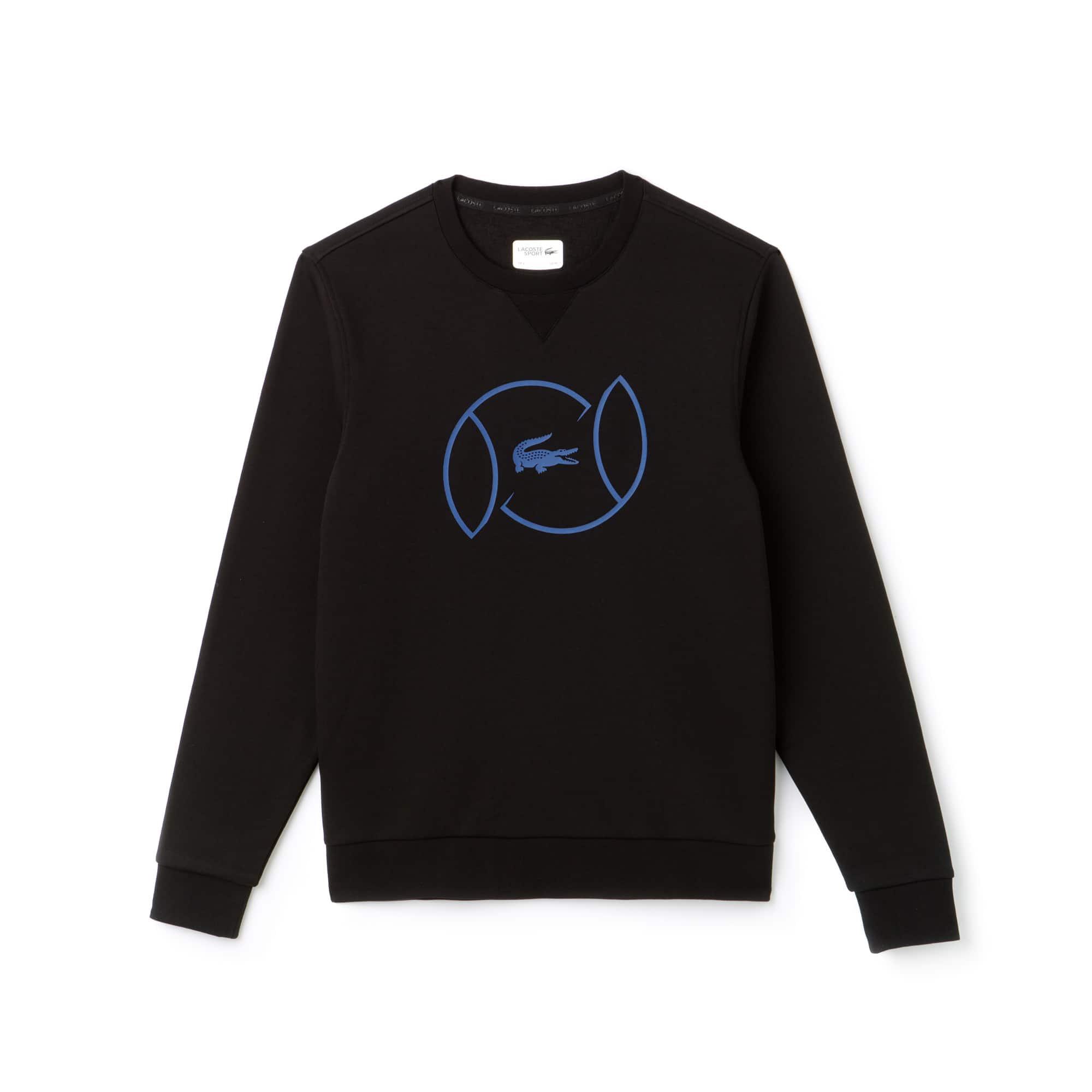 Men's SPORT Fleece And Lettering Tennis Sweatshirt