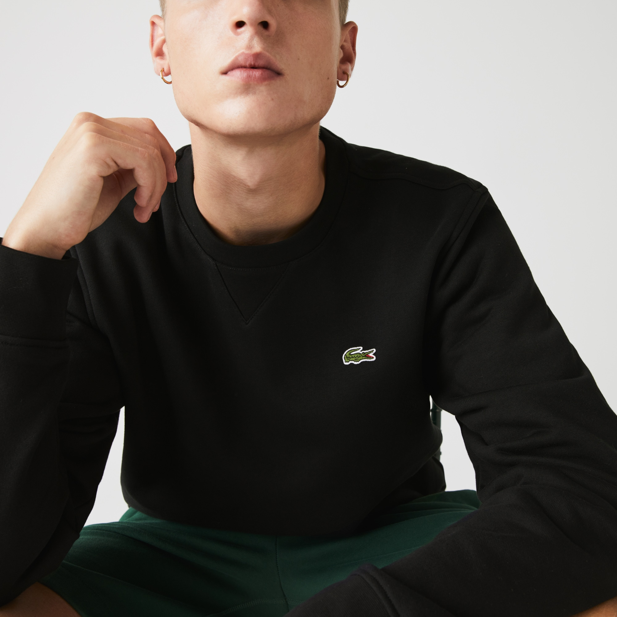 Men's SPORT Crew Neck Fleece Sweatshirt