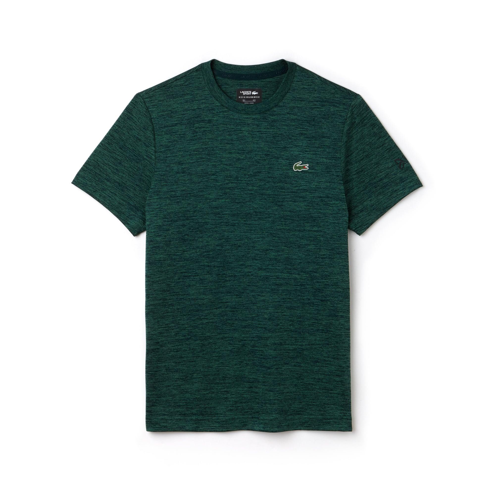 T-shirt col rond Tennis Lacoste SPORT en jersey technique et mesh
