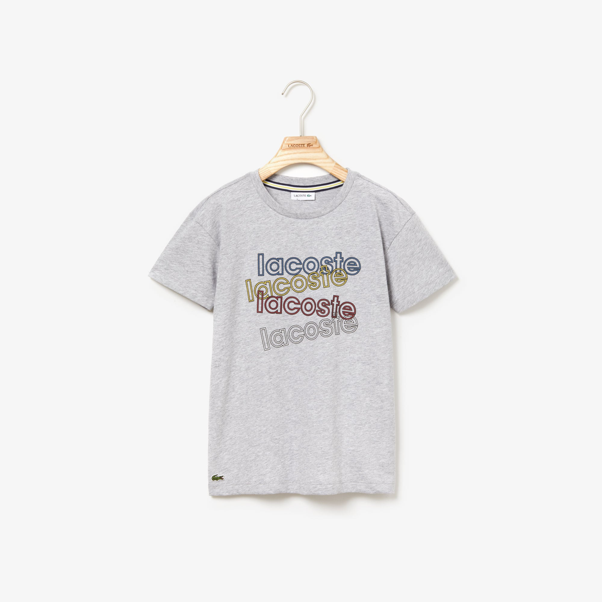 Boys' Crewneck Print Cotton T-shirt