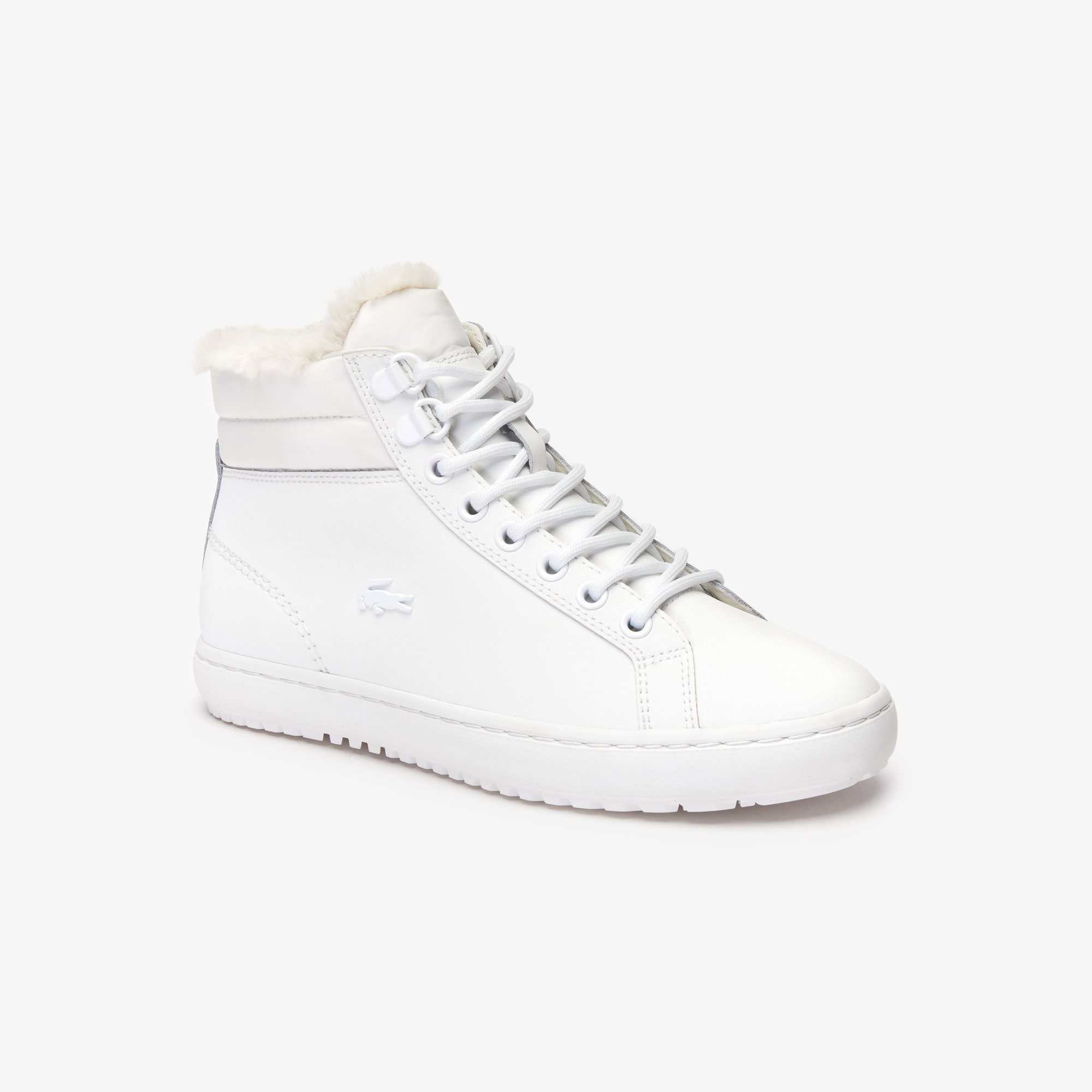 Lacoste Boots Women's Straightset Thermo Leather Boots