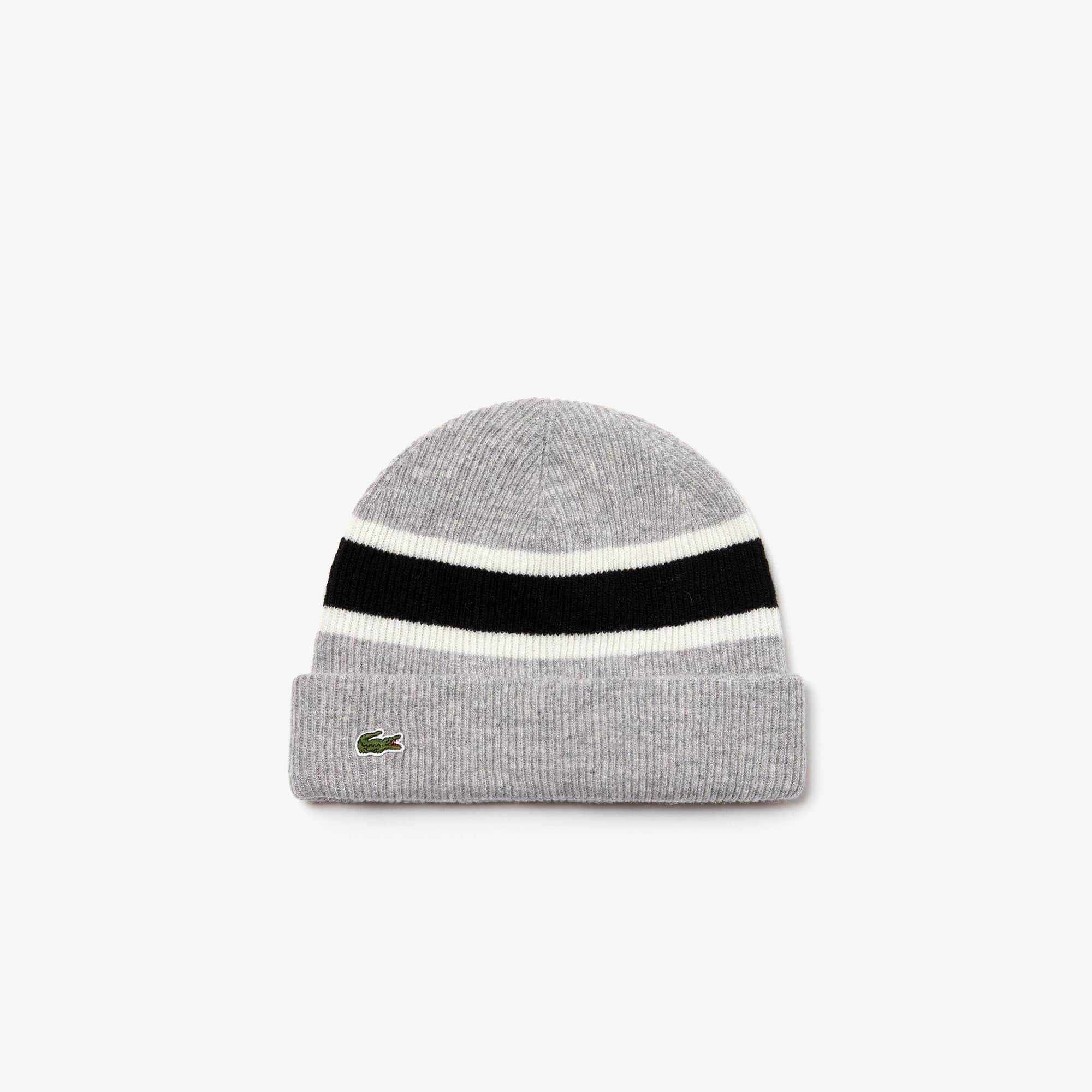 Bonnet côtelé en laine