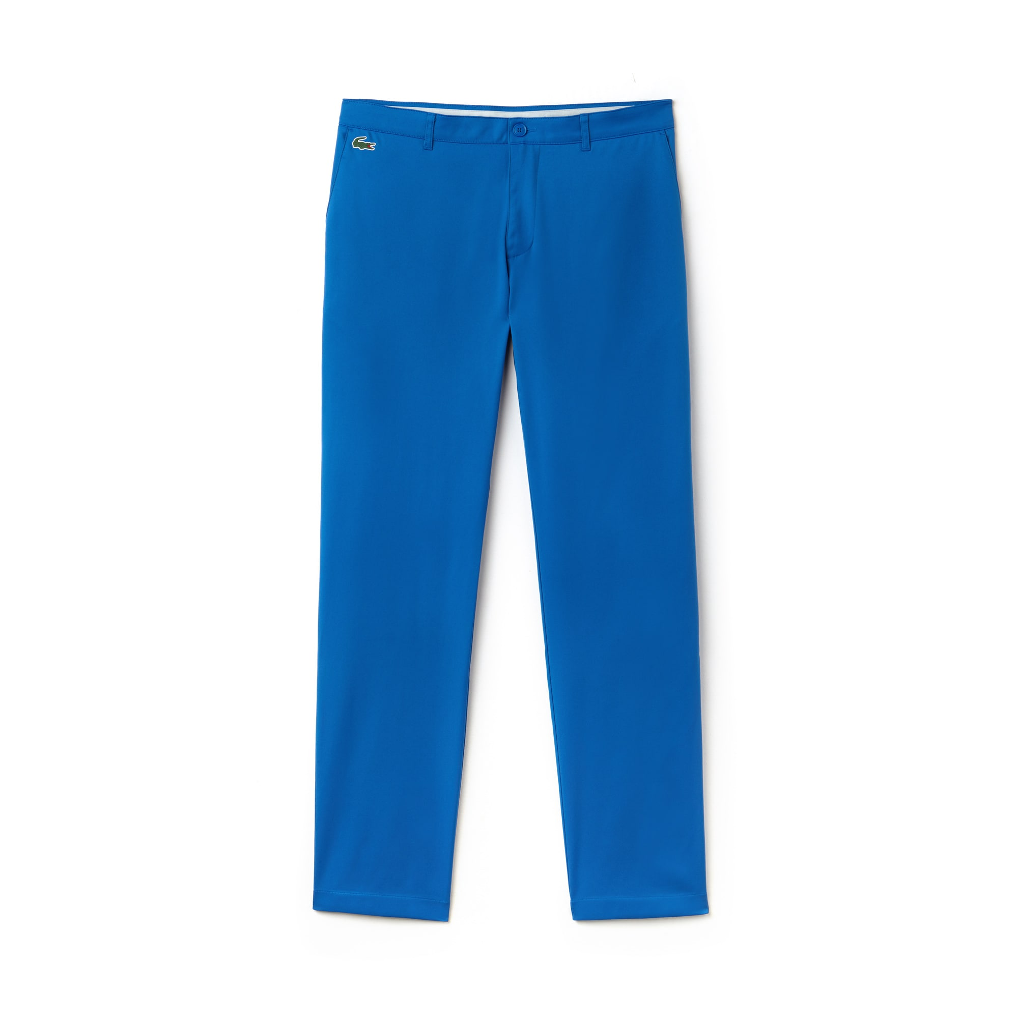 라코스테 Lacoste Mens SPORT Technical Gabardine Golf Chino Pants,blue