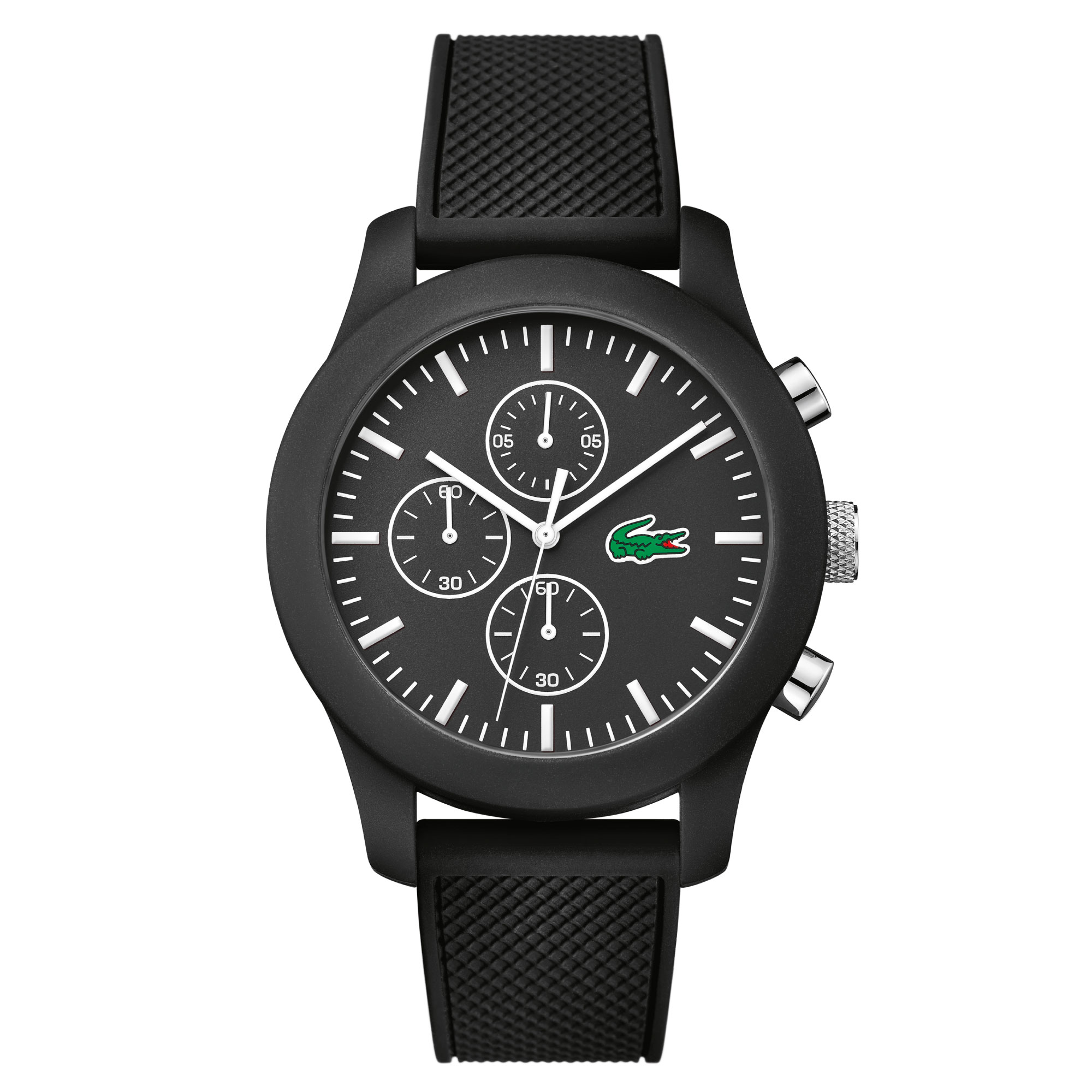 Unisex Lacoste.12.12 Chronograph Black Watch