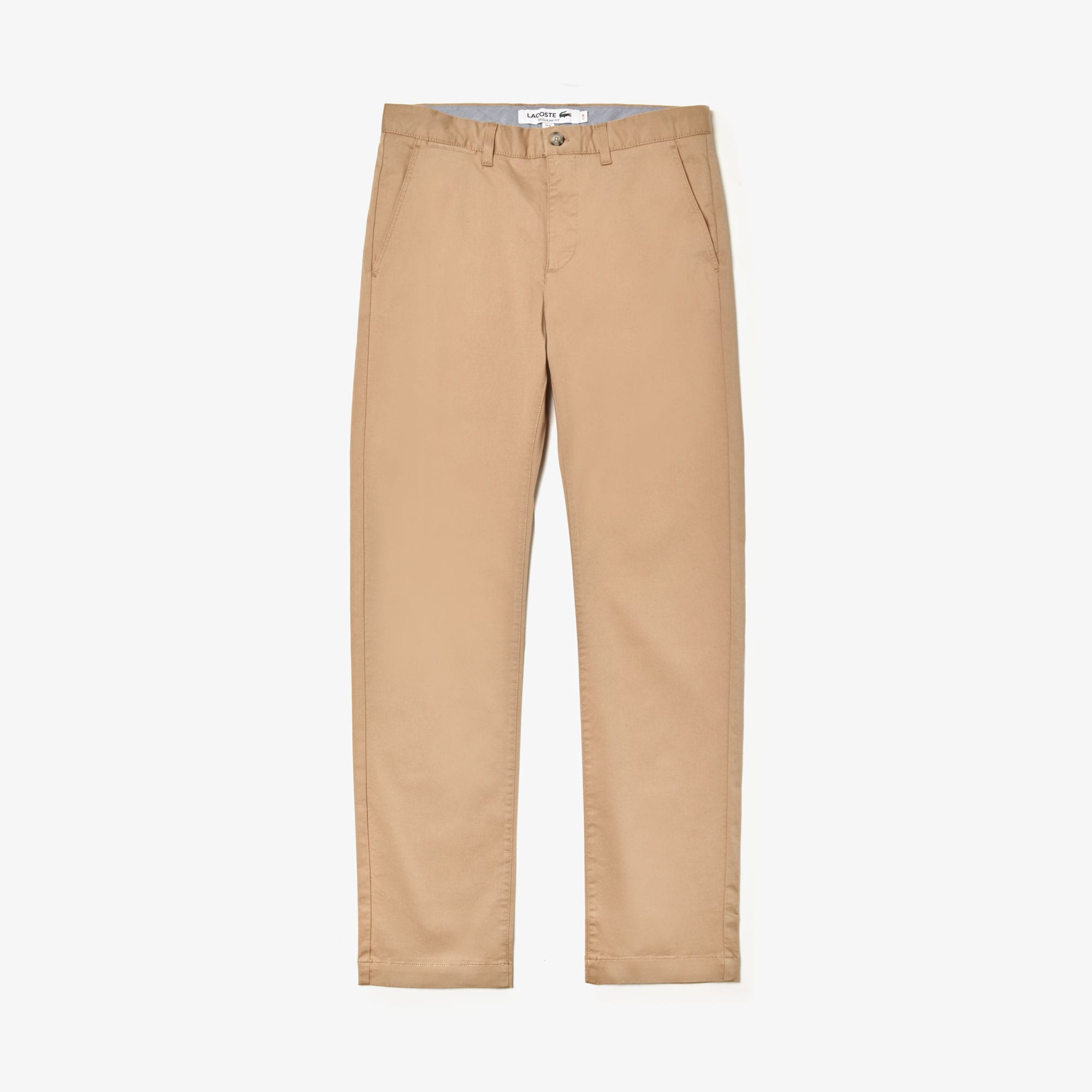 Lacoste Cottons Men's Regular Fit Stretch Cotton Chinos
