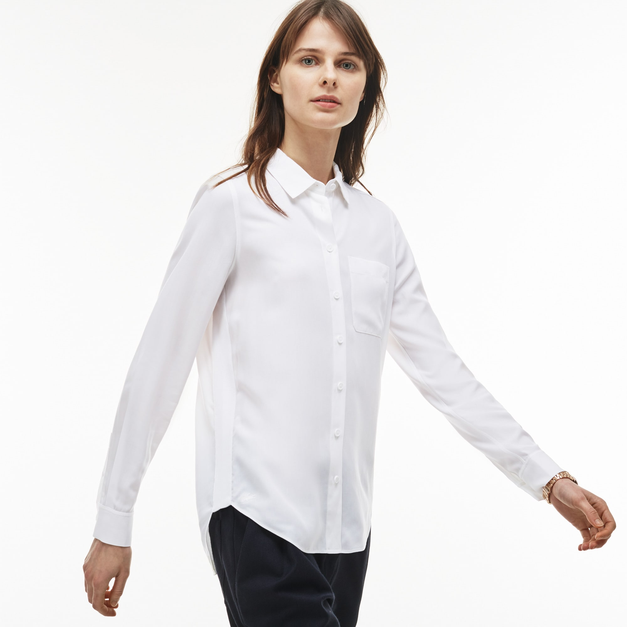 Women's Regular Fit Cotton Twill Shirt