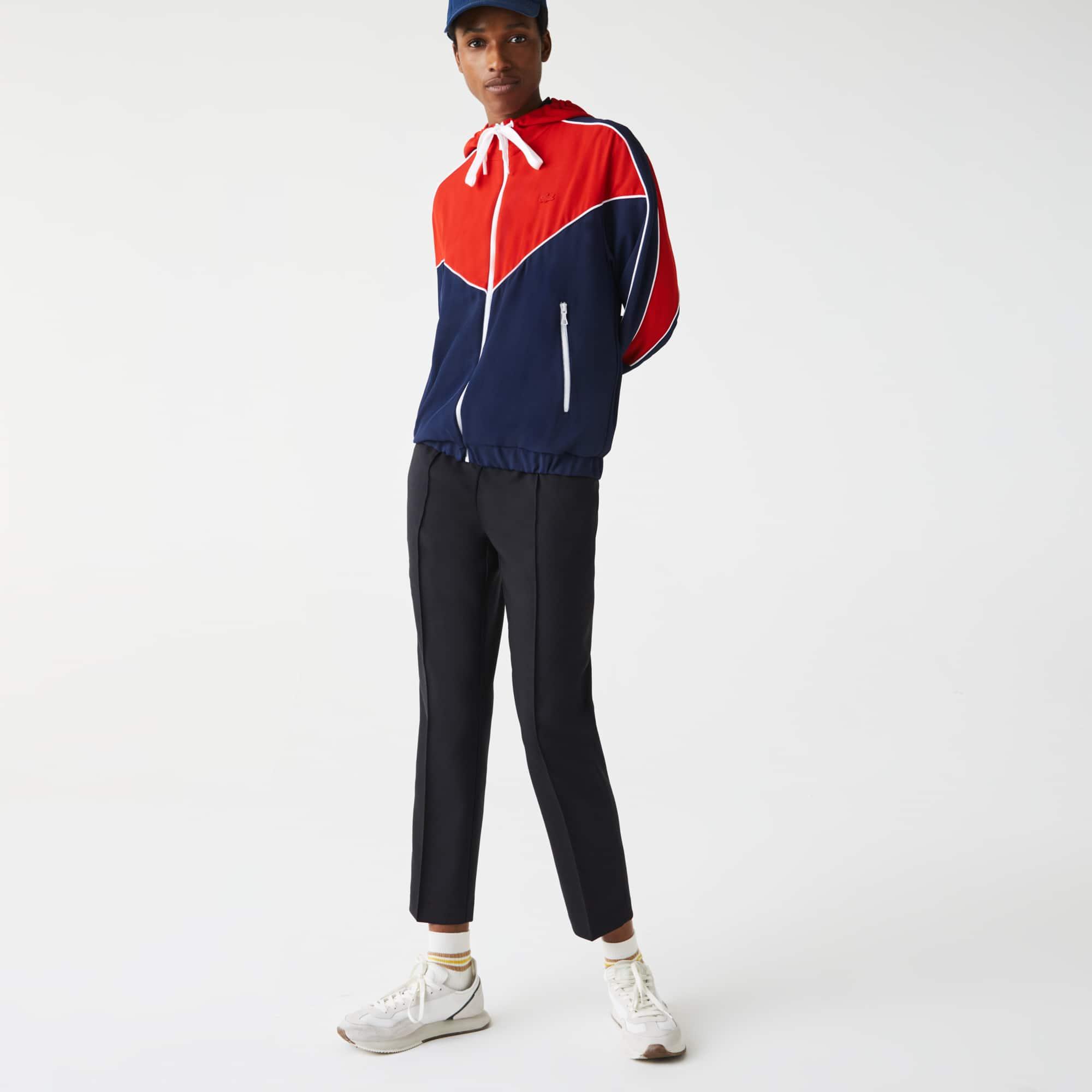 Lacoste Women's Colorblock Zip-Up Hoodie