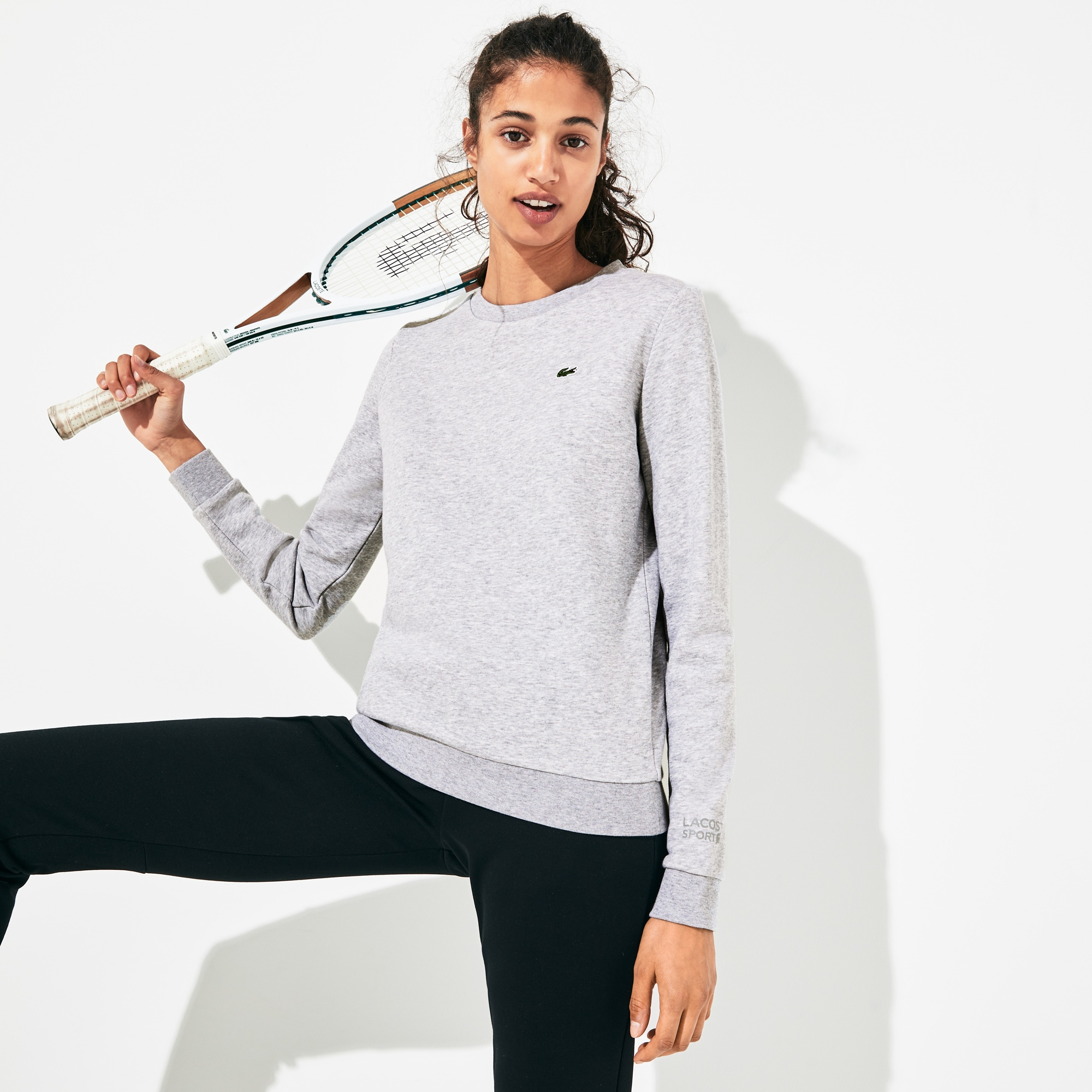 44843863 Women's SPORT Tennis Cotton Fleece Sweatshirt