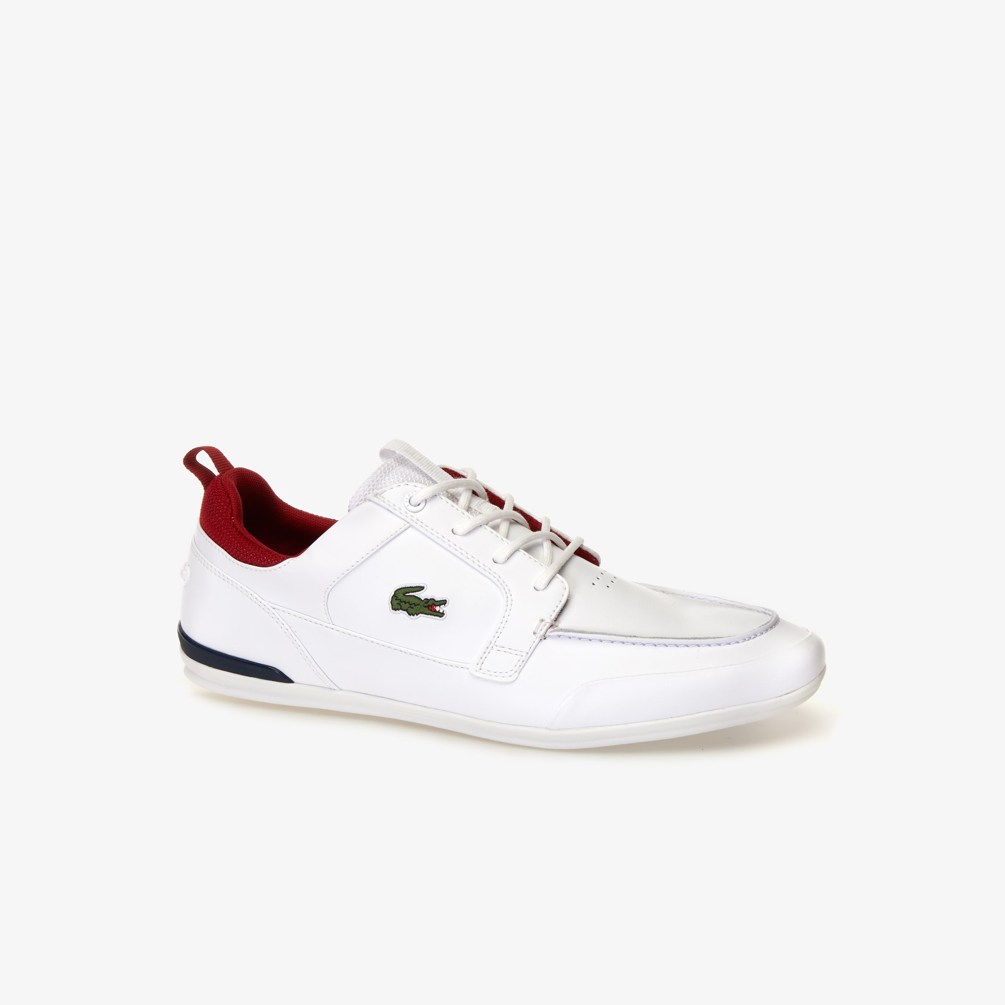 Men's Marina Textile and Leather Deck Shoes