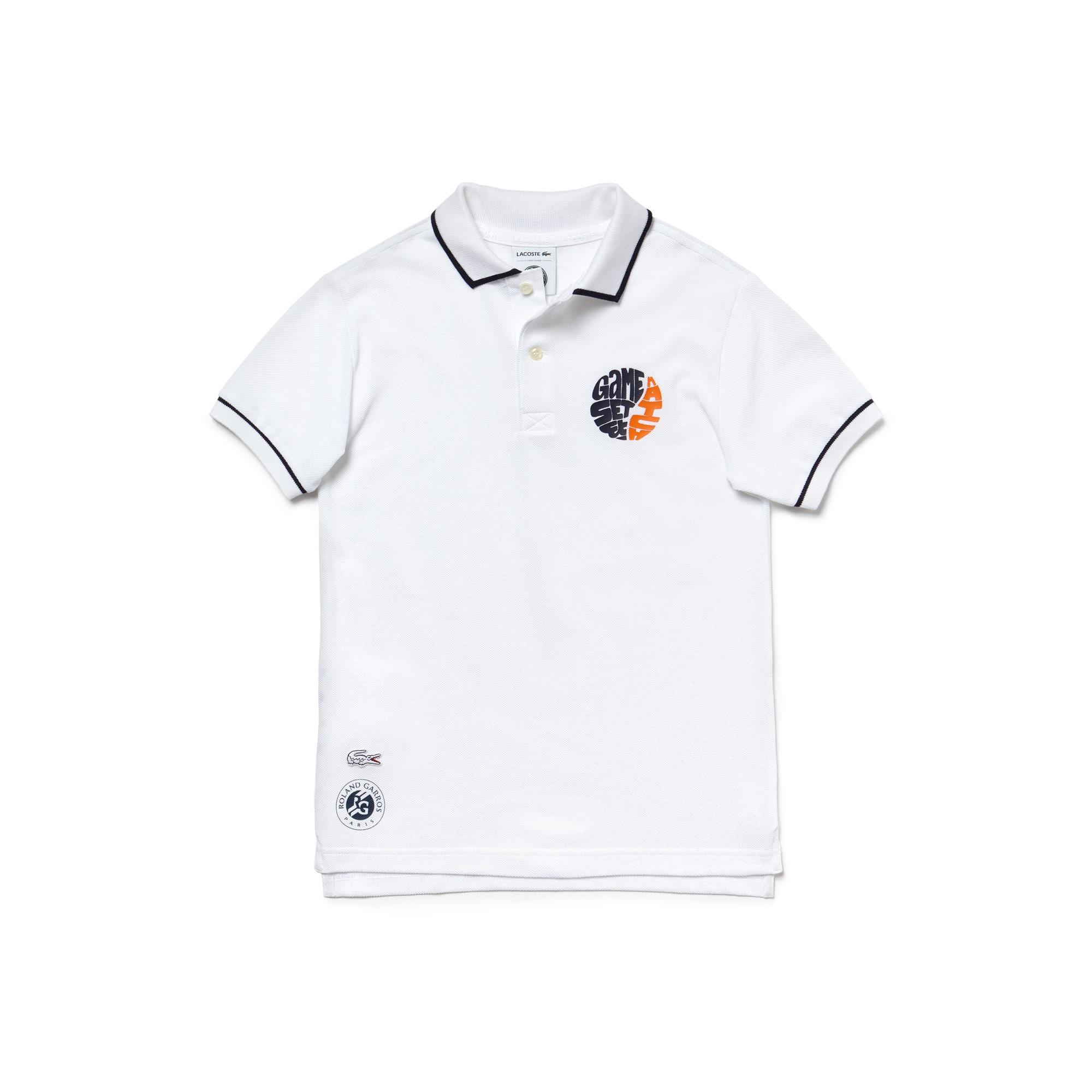 Boys' SPORT Roland Garros Edition Petit Piqué Polo