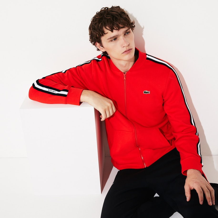 Men's SPORT Fleece Varsity Jacket