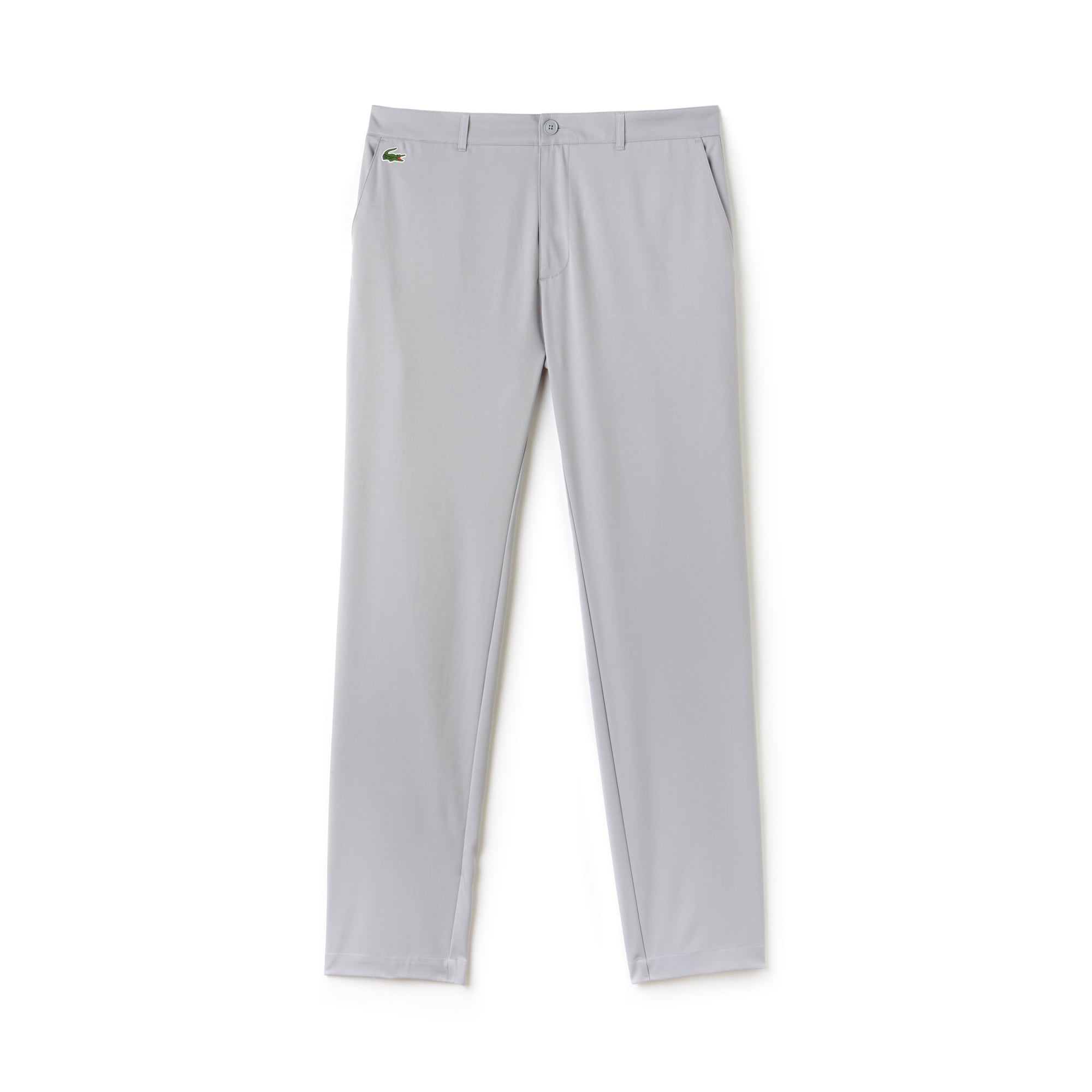 라코스테 Lacoste Mens SPORT Technical Golf Pants,elephant grey