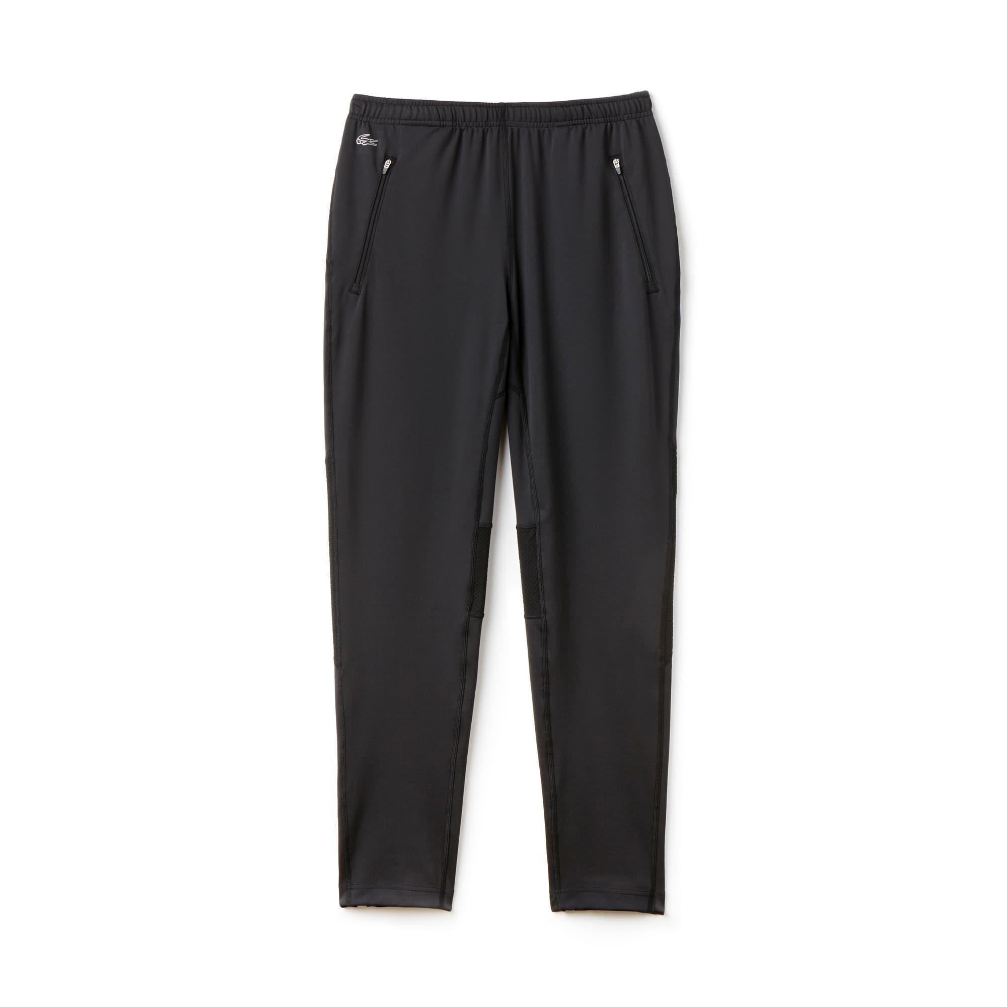 라코스테 Lacoste Mens Track Pant,Black