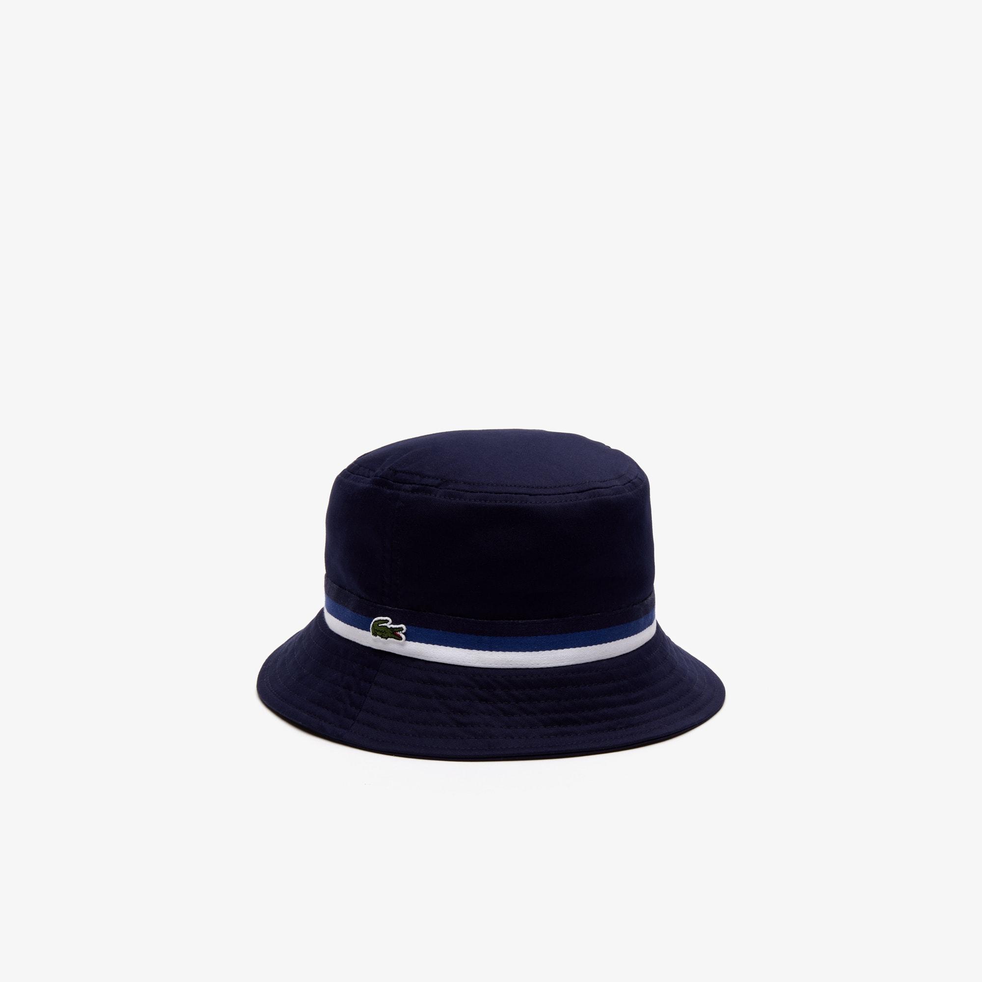 Boys' Tricolor Band Cotton Hat