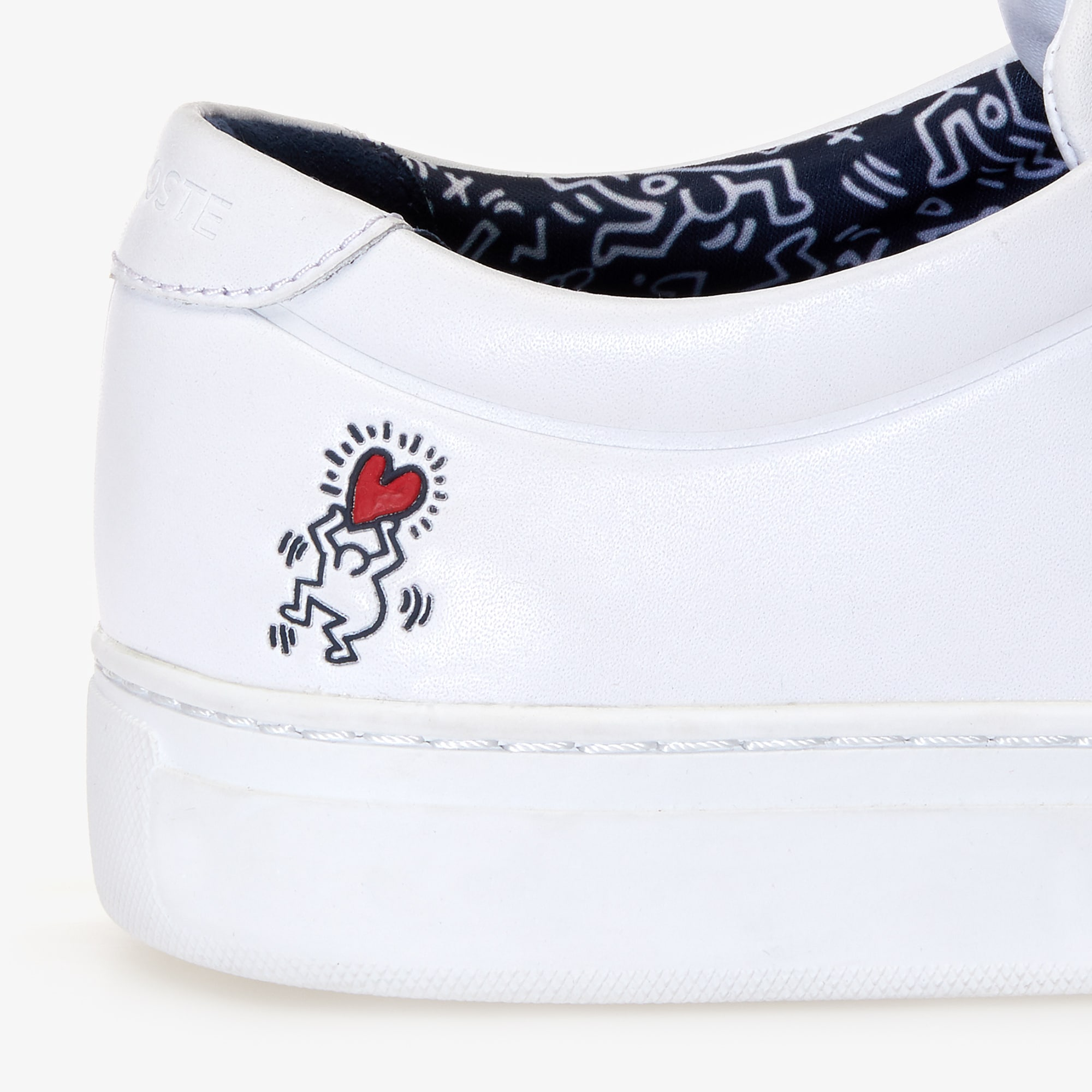 Men's L.12.12 Keith Haring Leather Sneakers