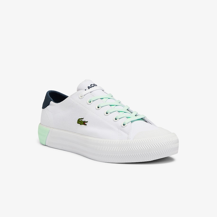 Women's Gripshot Canvas and Leather Sneakers