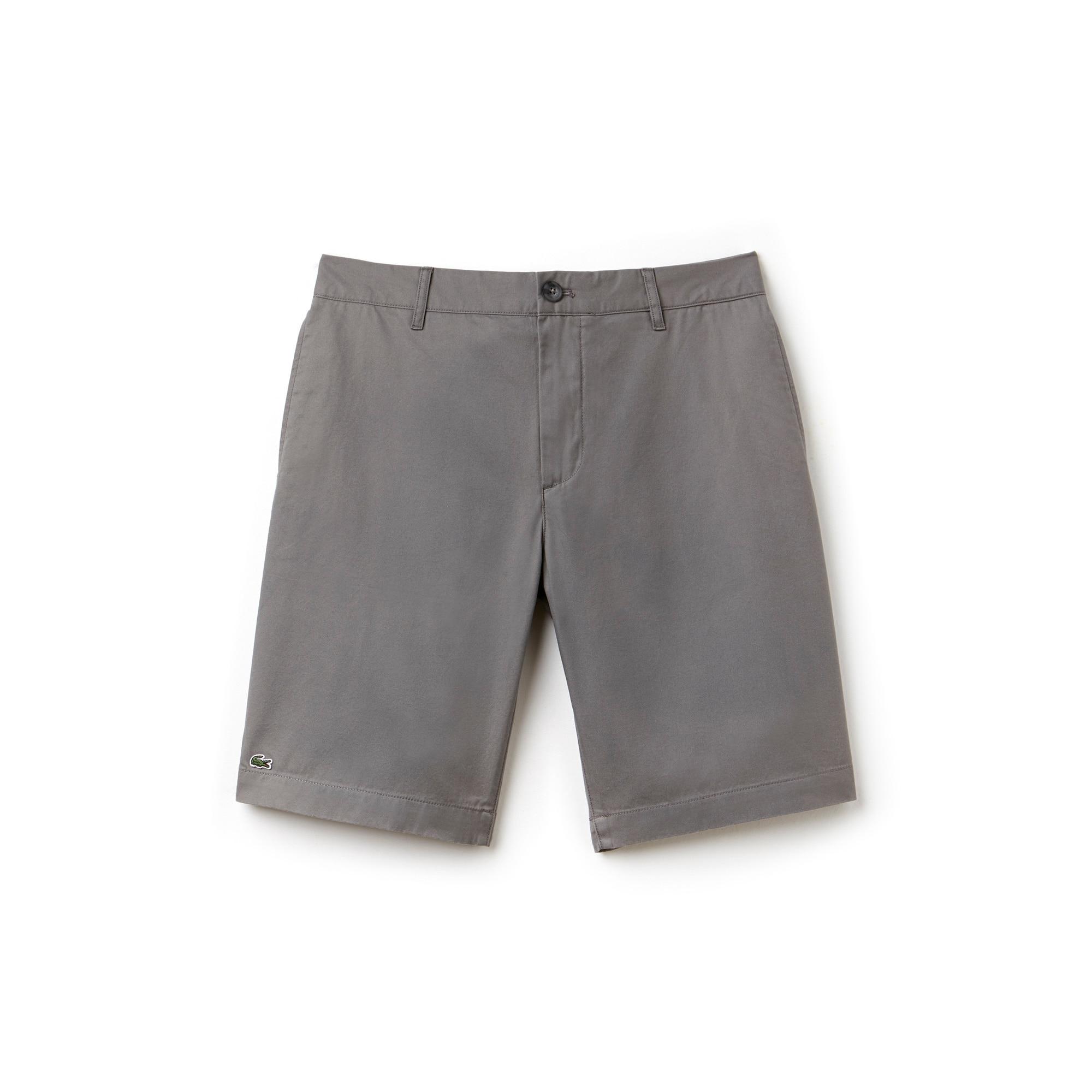Men's Classic Gabardine Bermuda Shorts