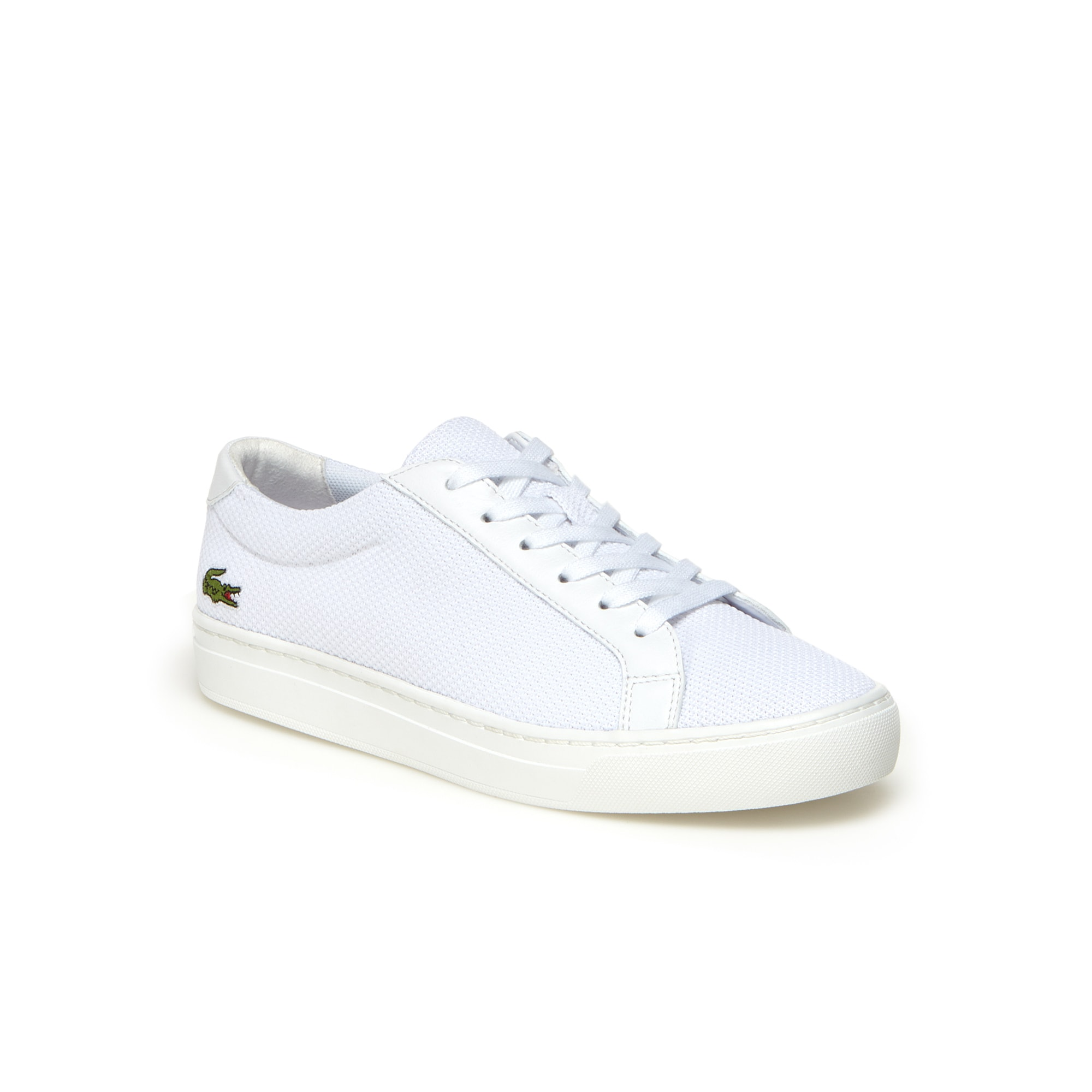 Children's L.12.12 BL Textile and Leather Trainers