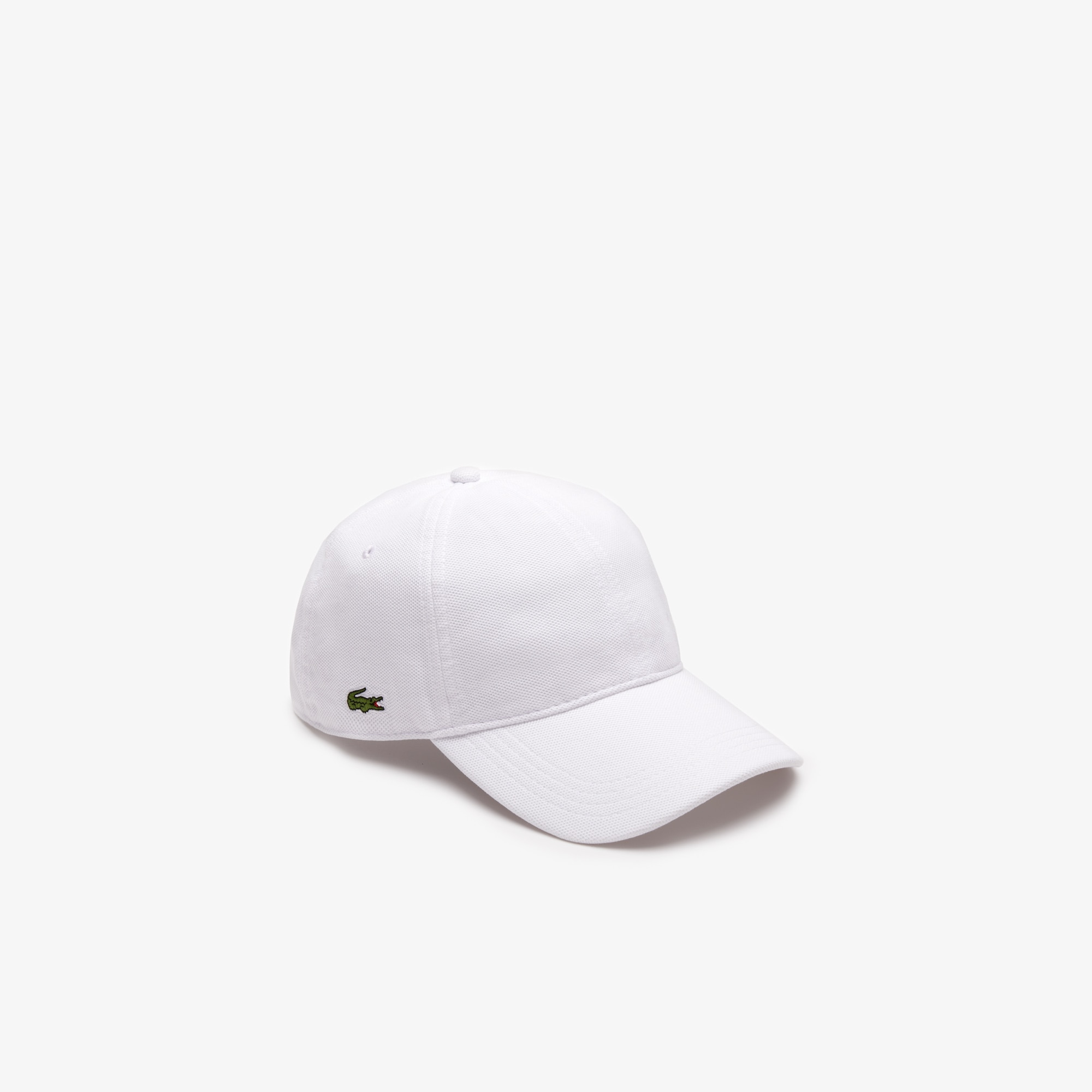 33a62544167 Lacoste Men S Cotton PiquÉ Cap In White