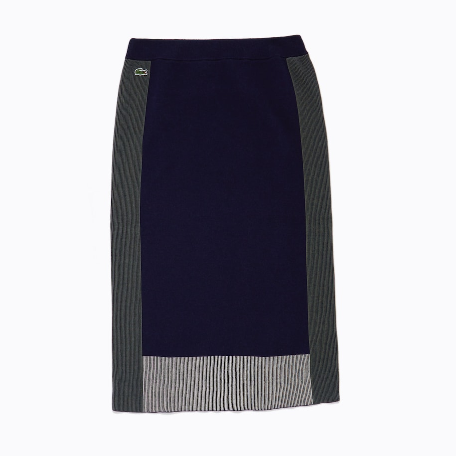 Women's Colorblock Pencil Skirt