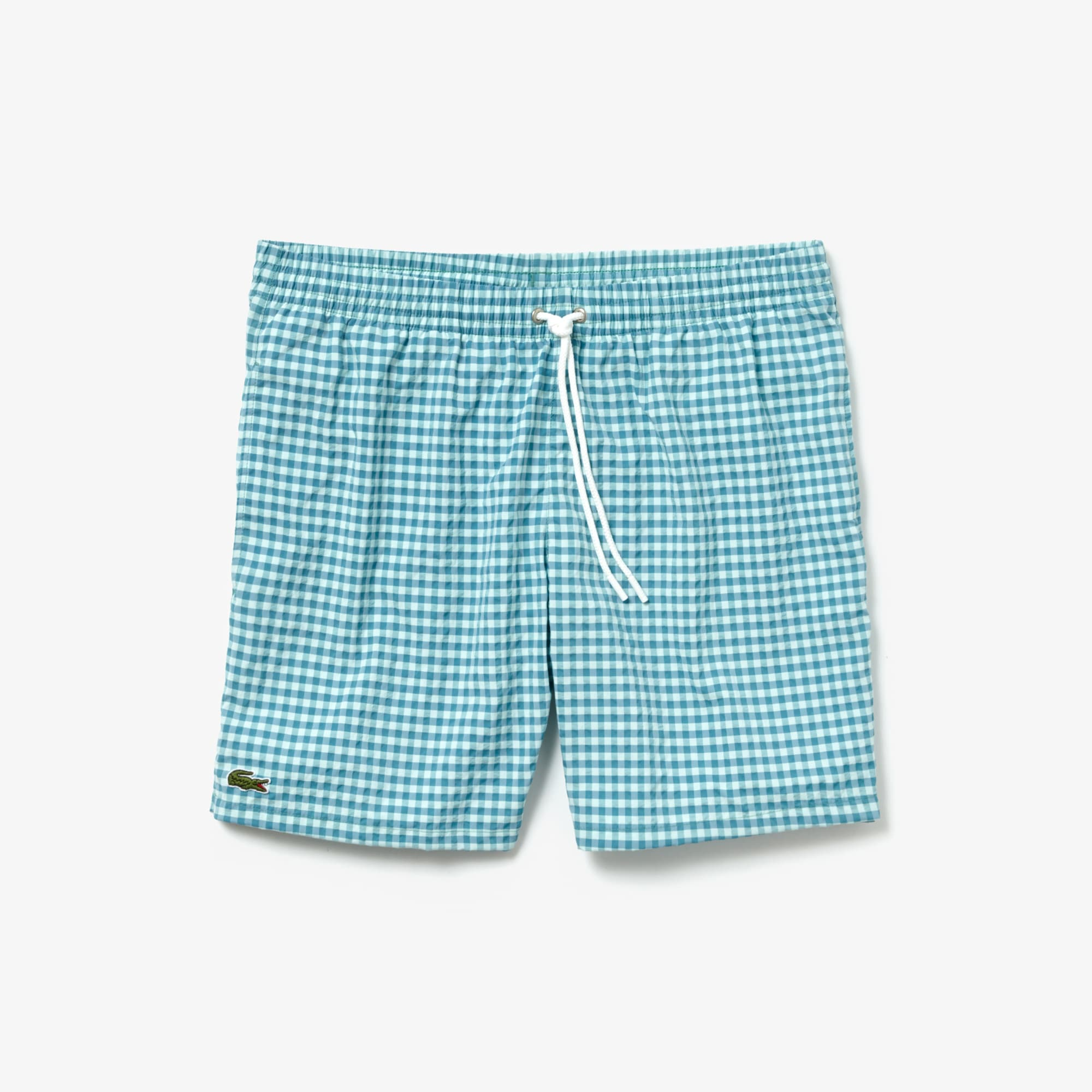 Men's Striped Seersucker Swim Trunks