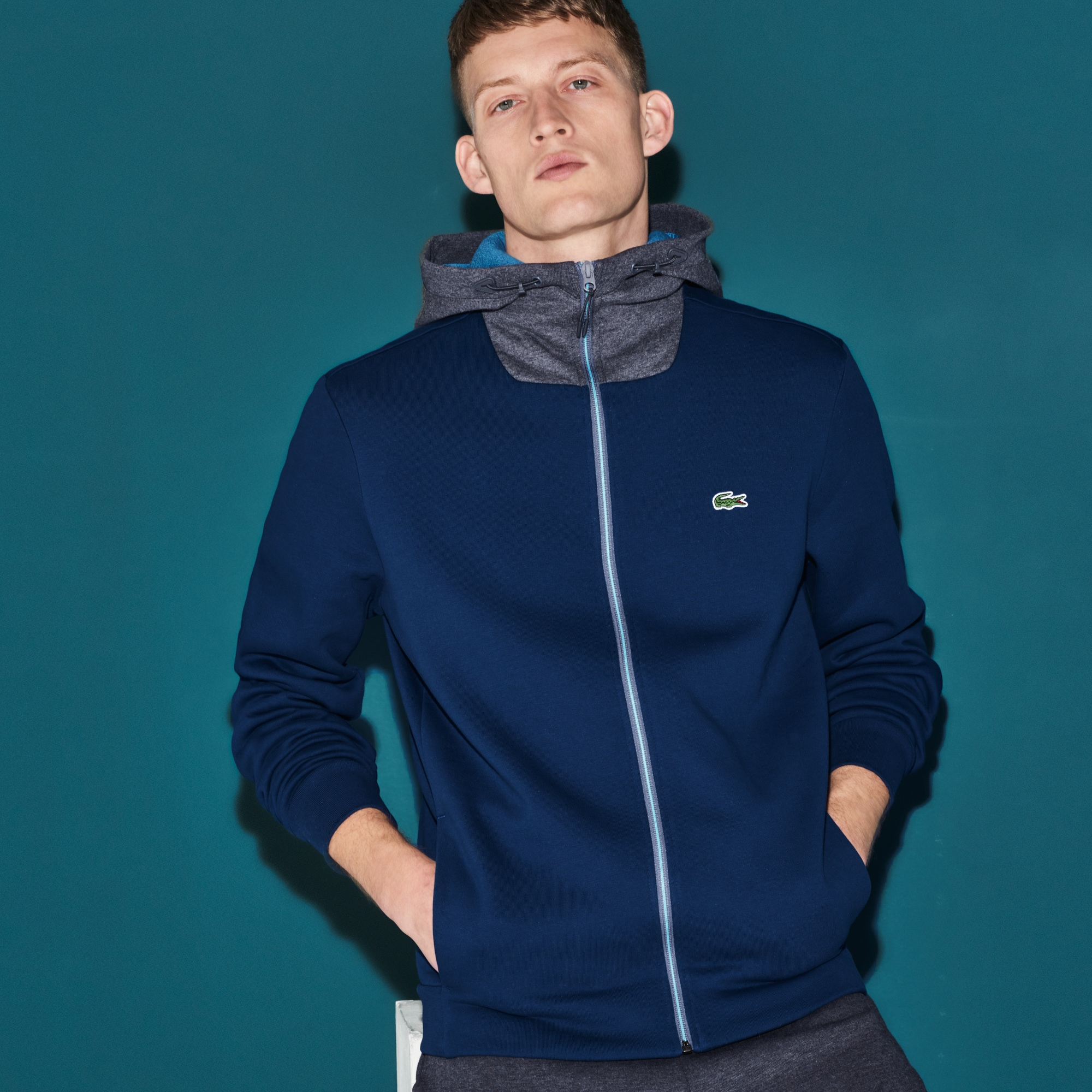 Men's SPORT Hooded Tennis Sweatshirt
