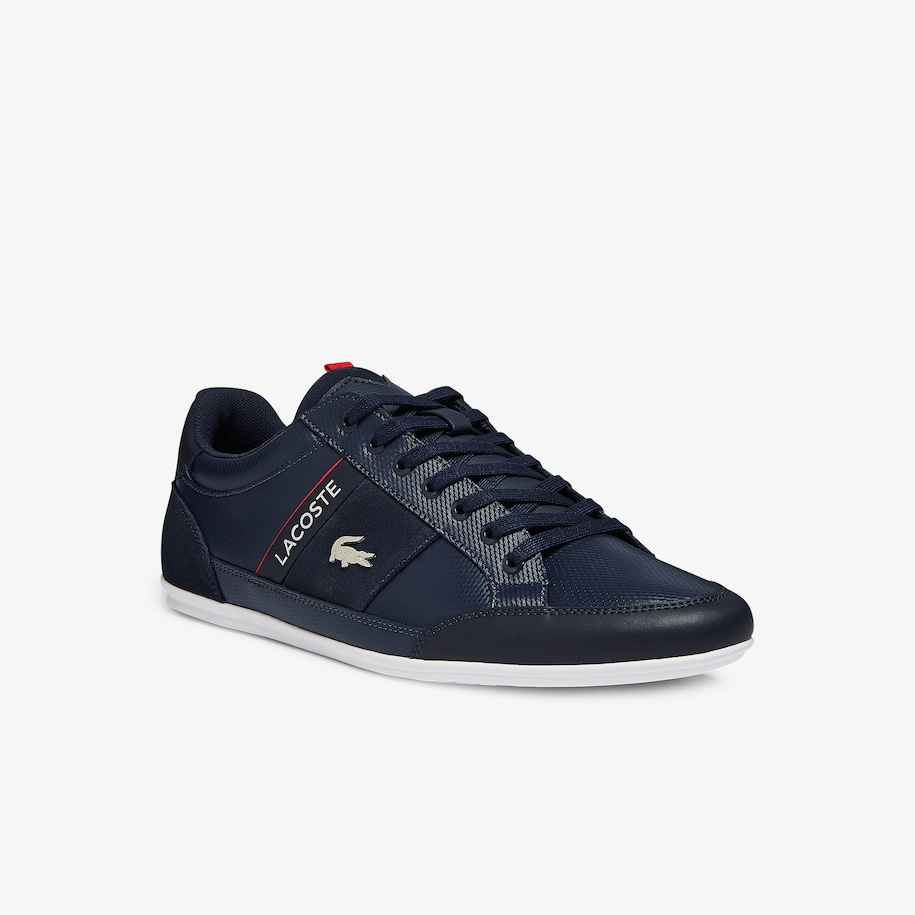 Men's Chaymon Leather and Suede Sneakers