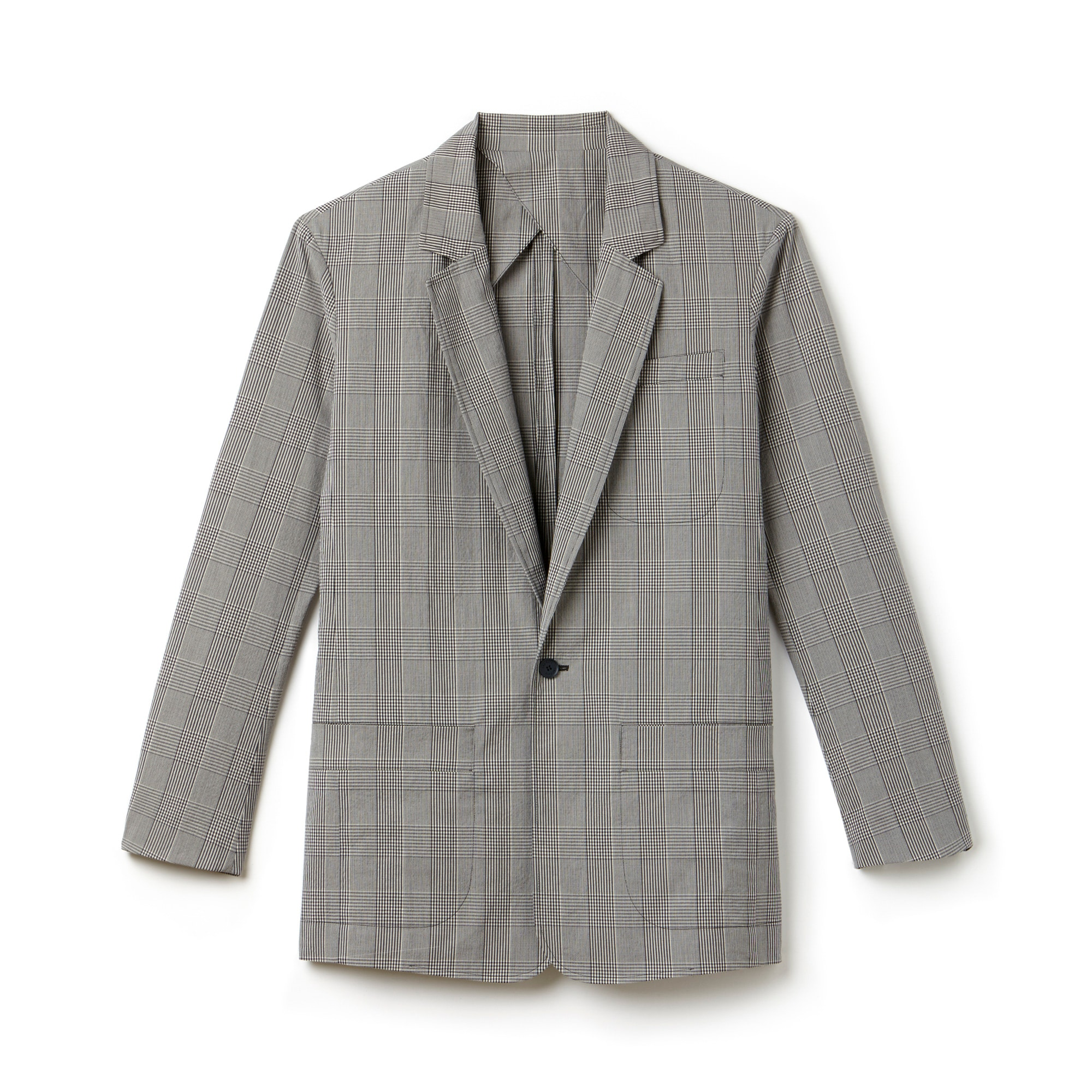 Men's Fashion Show Seersucker Blazer
