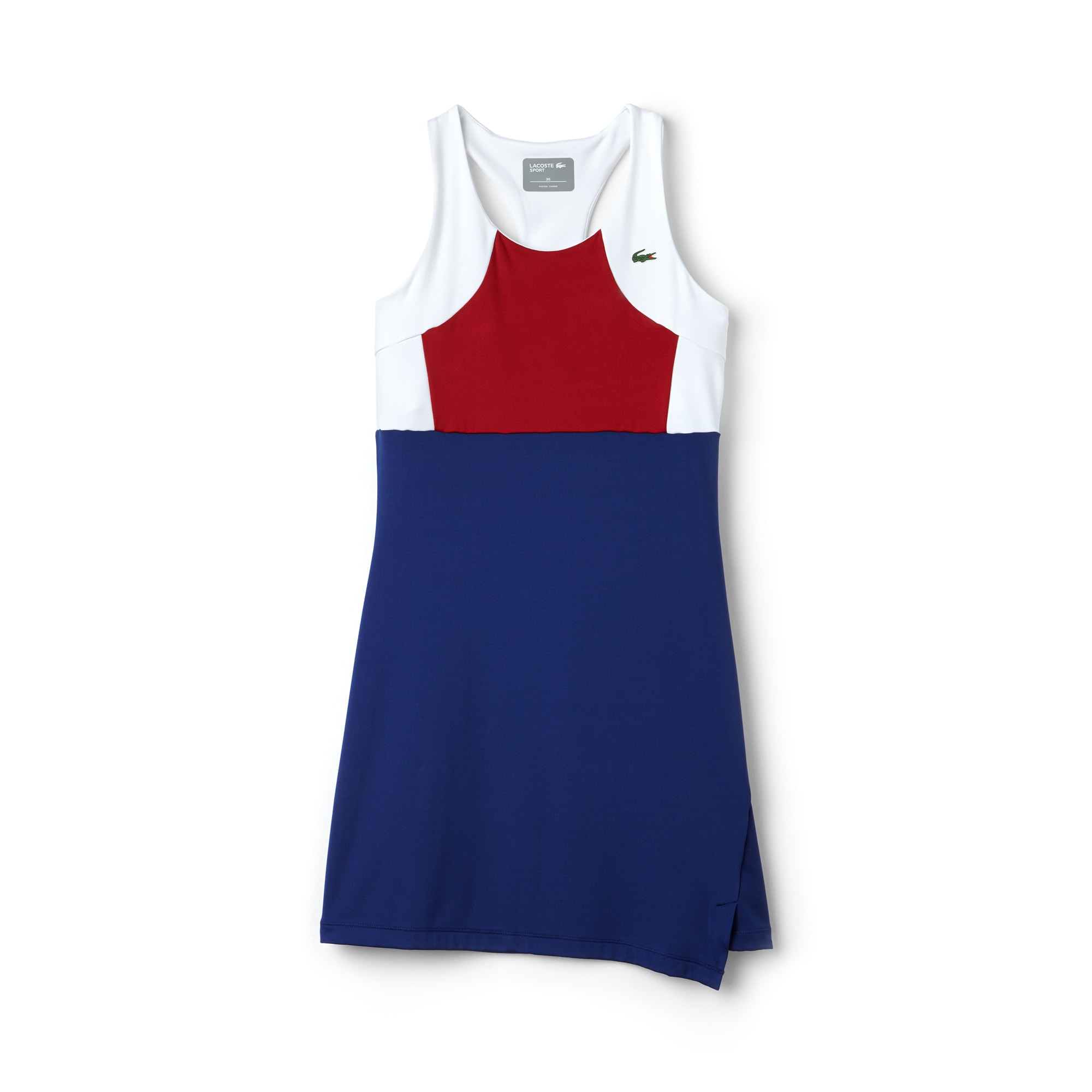 Women's SPORT Tennis Colorblock Jersey Racerback Dress