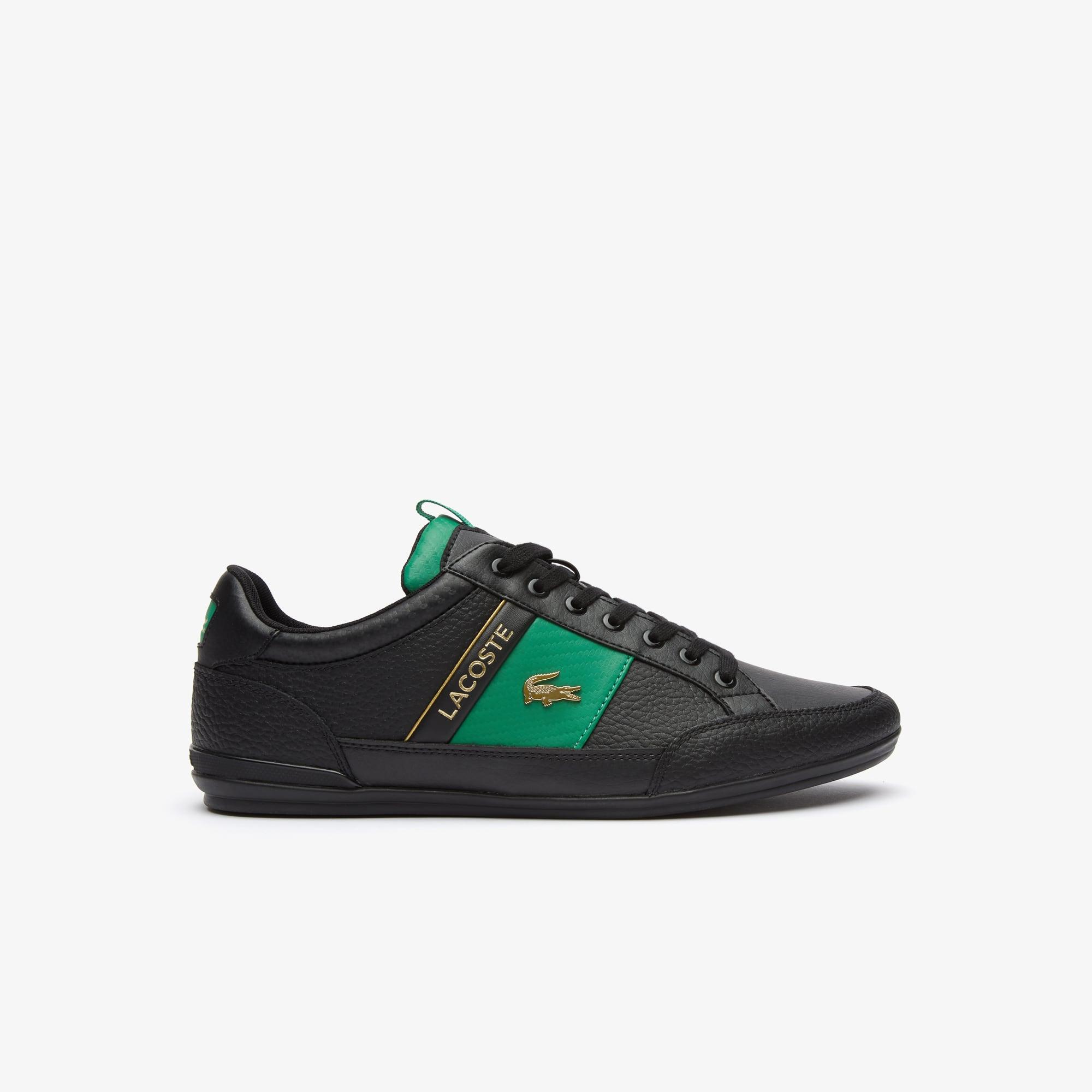 라코스테 차이먼 스니커즈 - 2 컬러 Lacoste Mens Chaymon Leather and Carbon Fibre Trainers