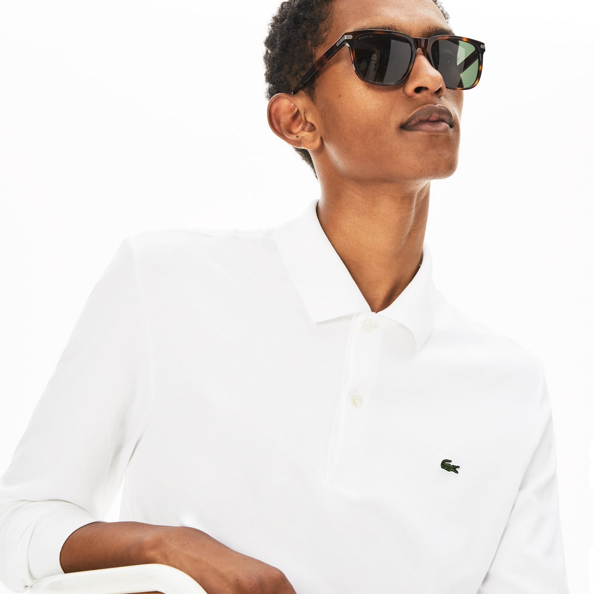라코스테 Lacoste Mens Regular Fit Cotton Polo