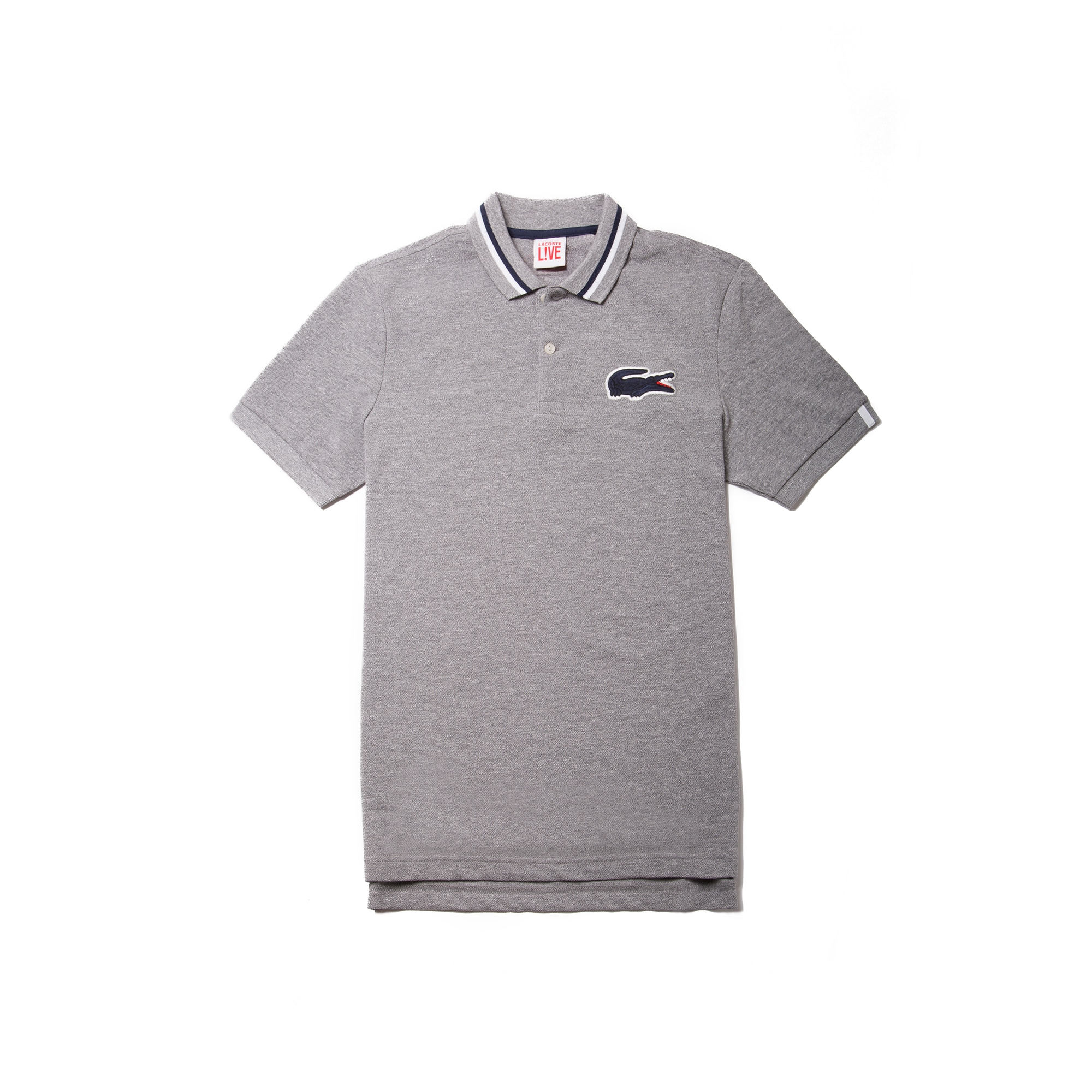 Men's  LIVE Regular Fit Piped Petit Piqué Polo