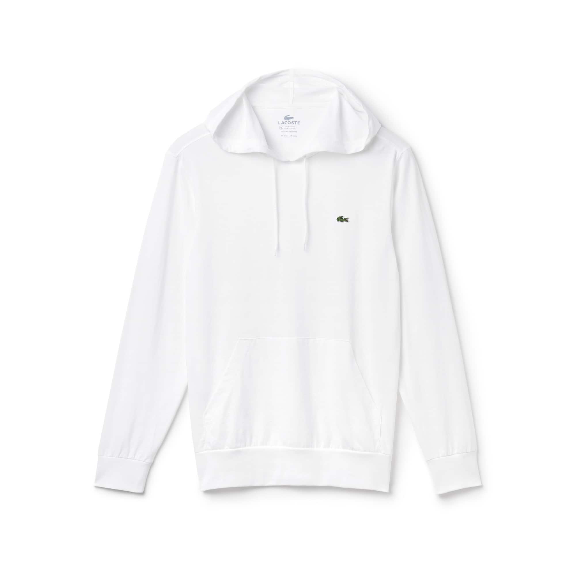 Men's Cotton Hooded T-Shirt