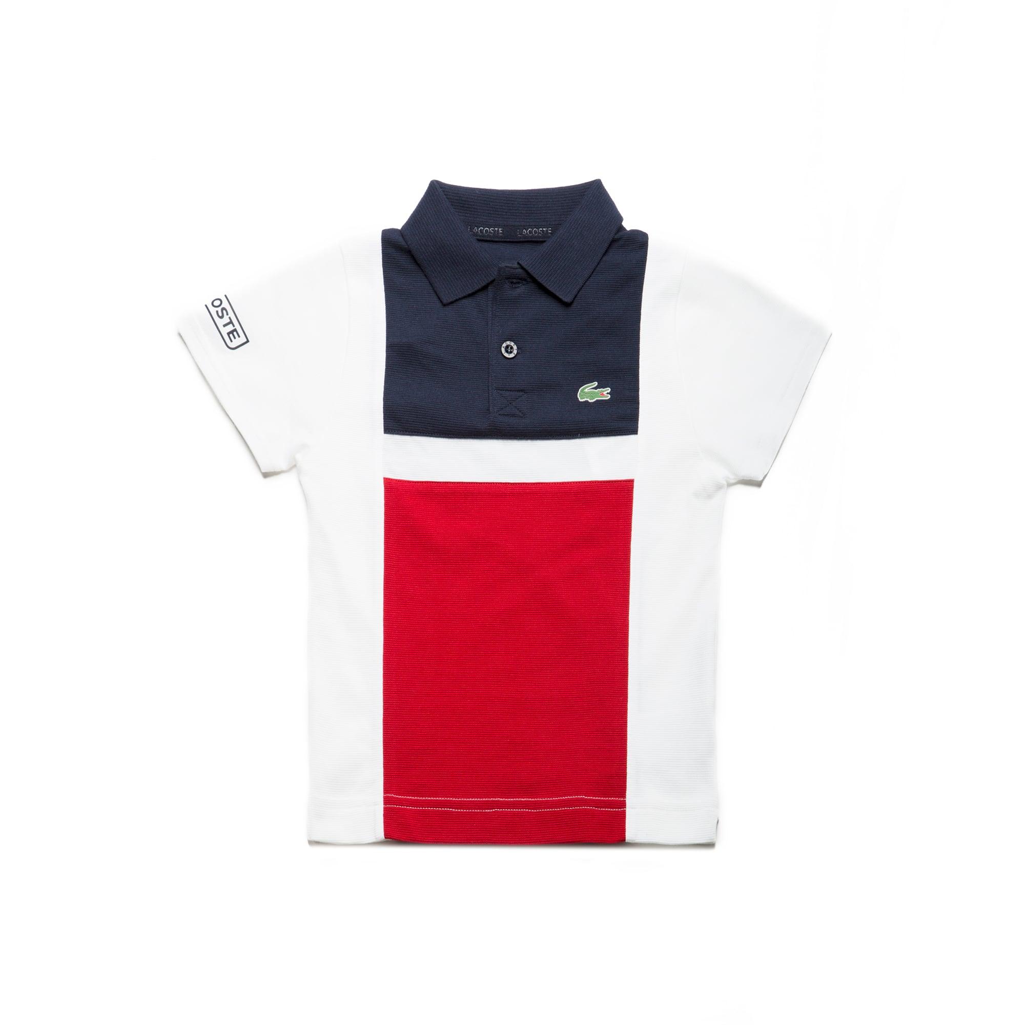 Boys'  SPORT Tennis Colorblock Ultra-Light Cotton Polo