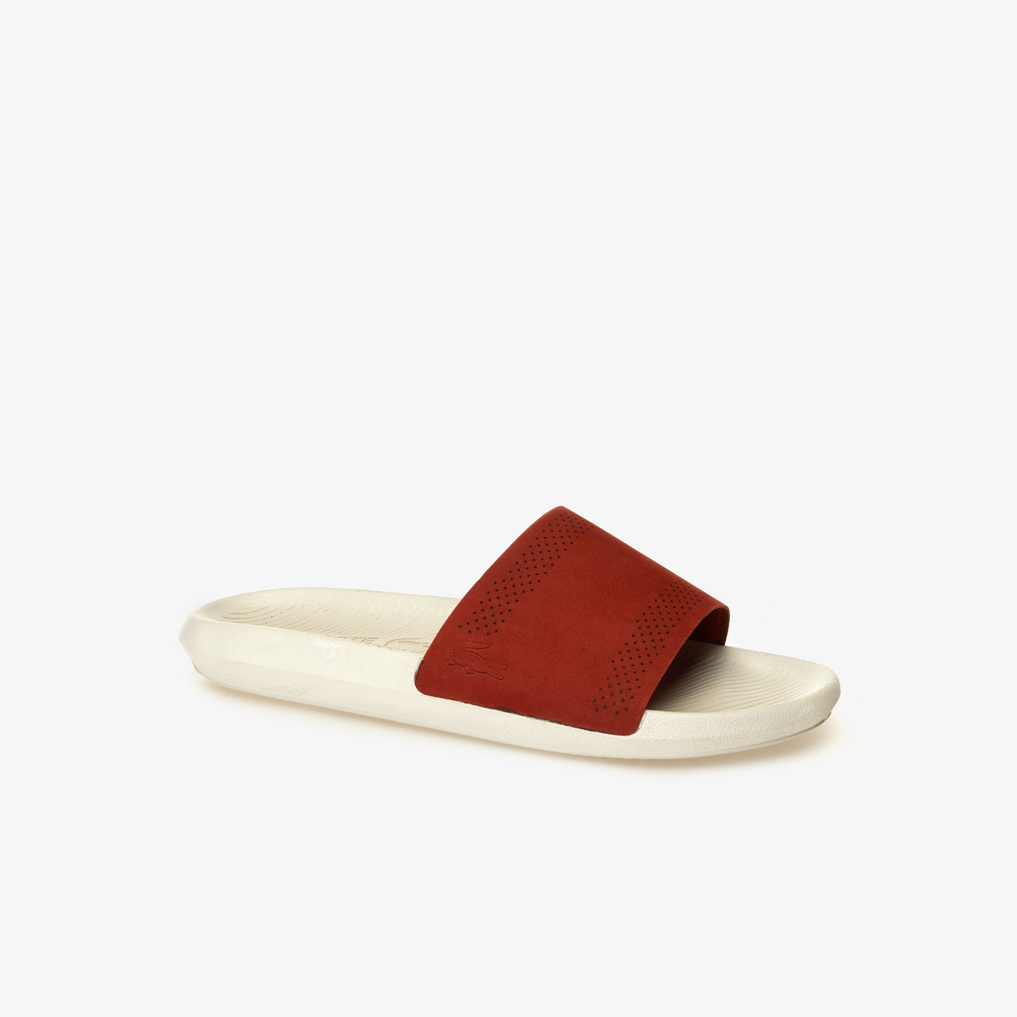 Men's Croco Slide Leather Slides