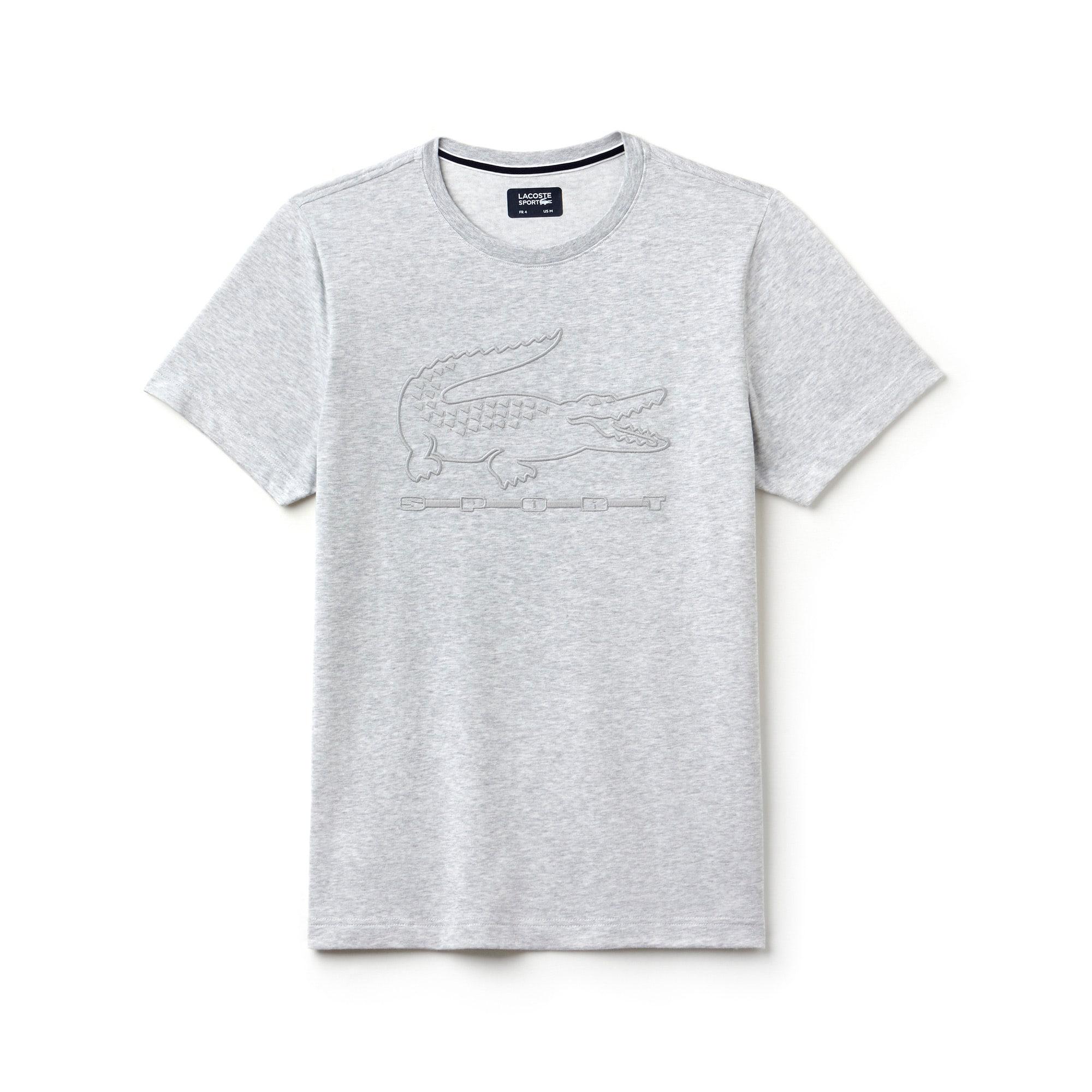 Men's  SPORT Tennis Embroidery Tech Jersey T-shirt