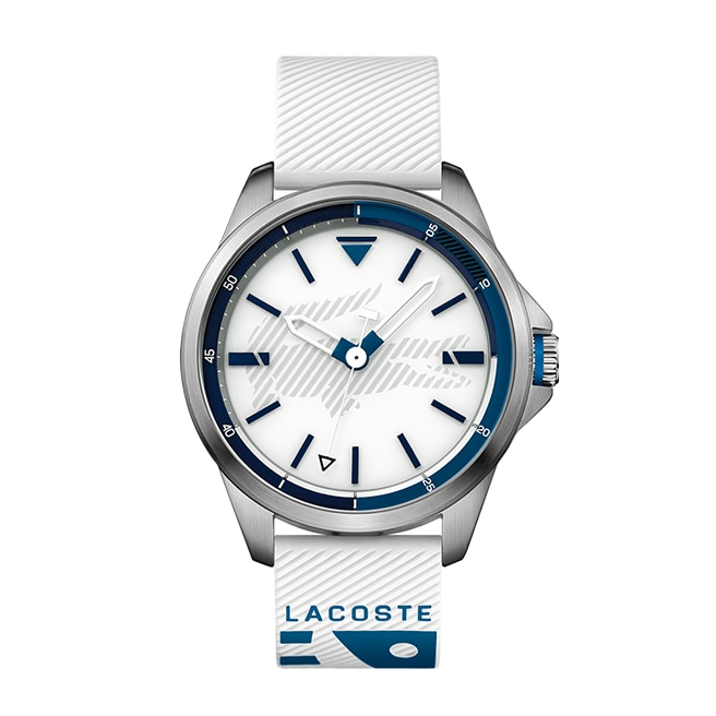 Men's Capbreton White Silicon Strap