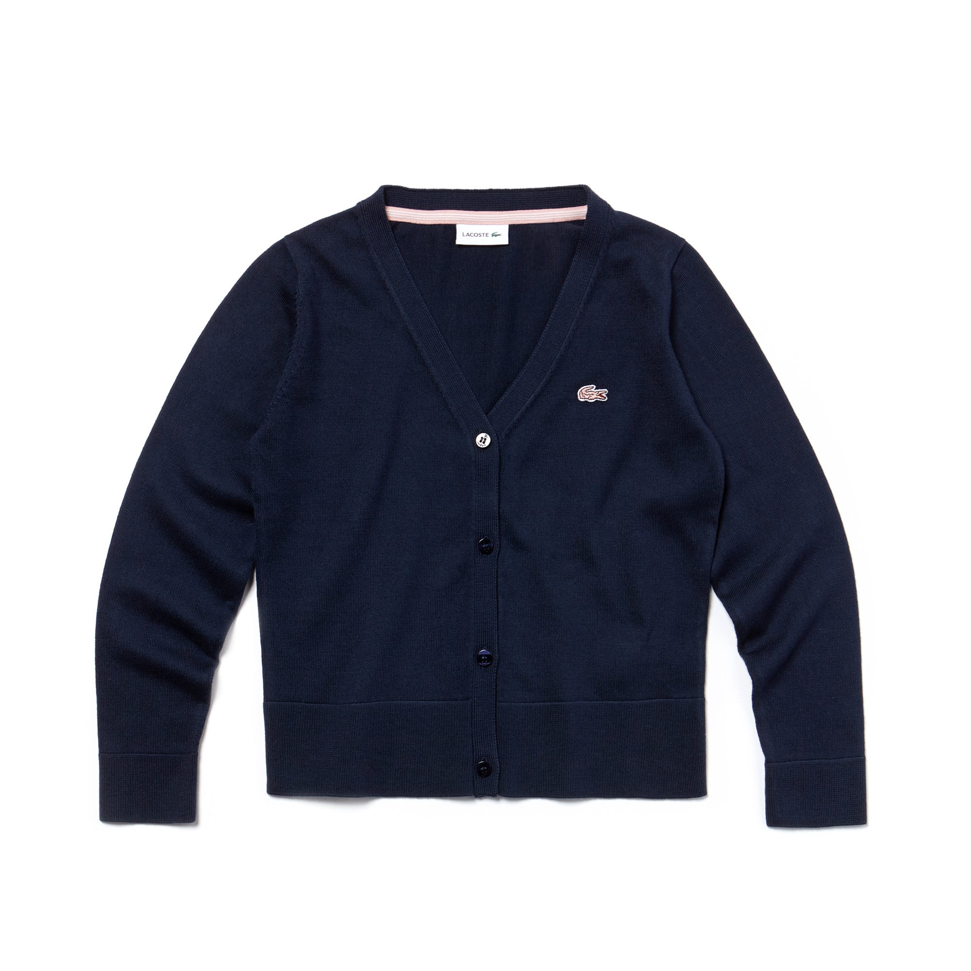 Girls' Cotton Jersey Cardigan