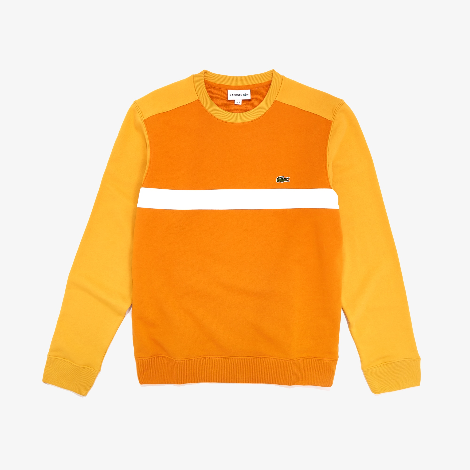 Lacoste Tops Men's Color-Block Cotton Fleece Sweatshirt
