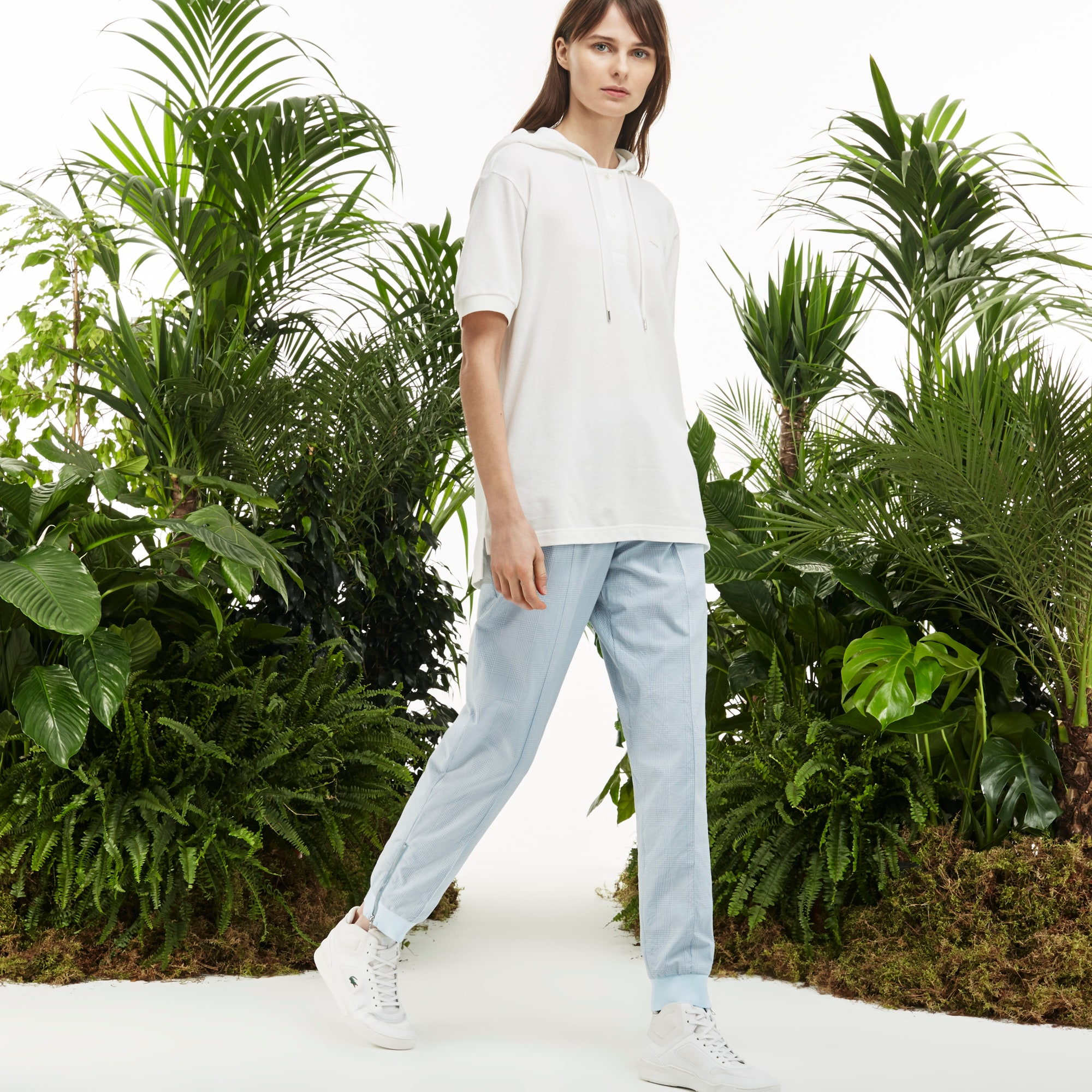 Women's Fashion Show Urban Seersucker Trackpants