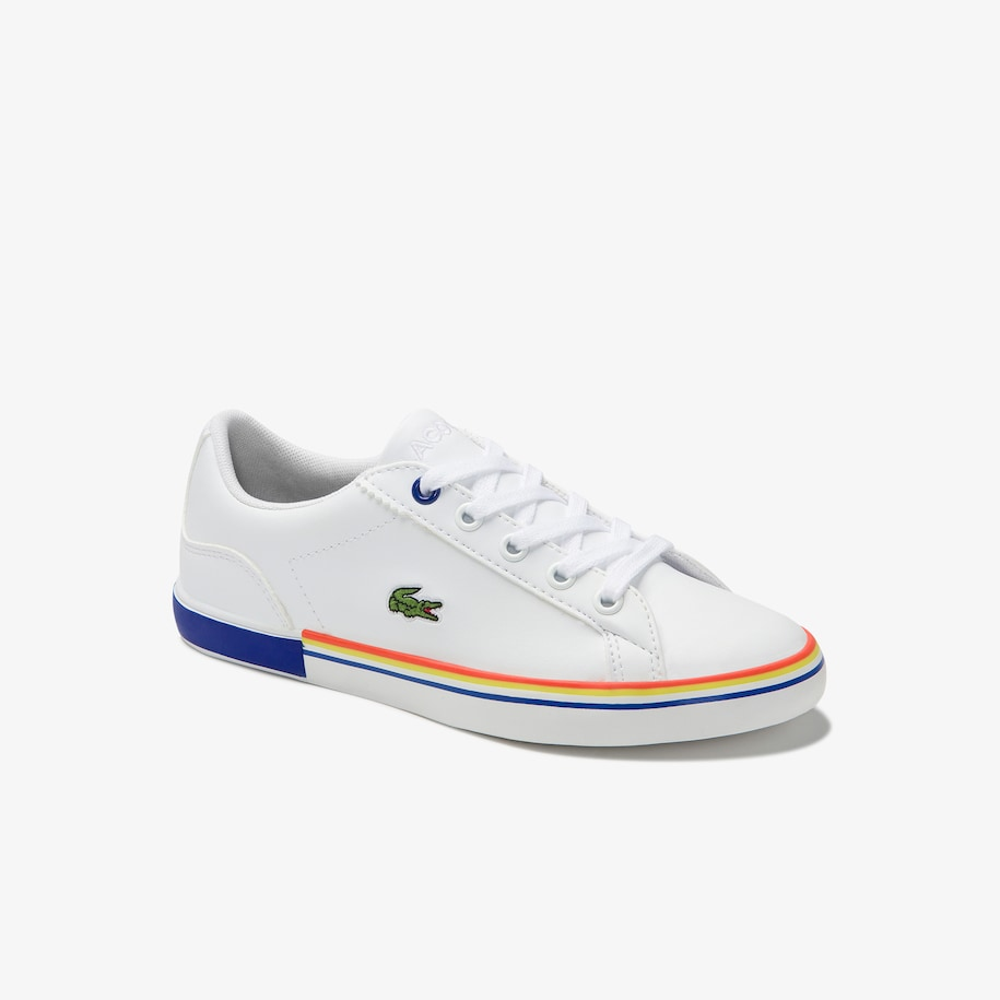 Children's Lerond Synthetic Lace-up Trainers
