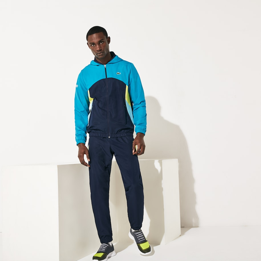 Men's SPORT Hooded Colorblock Tracksuit