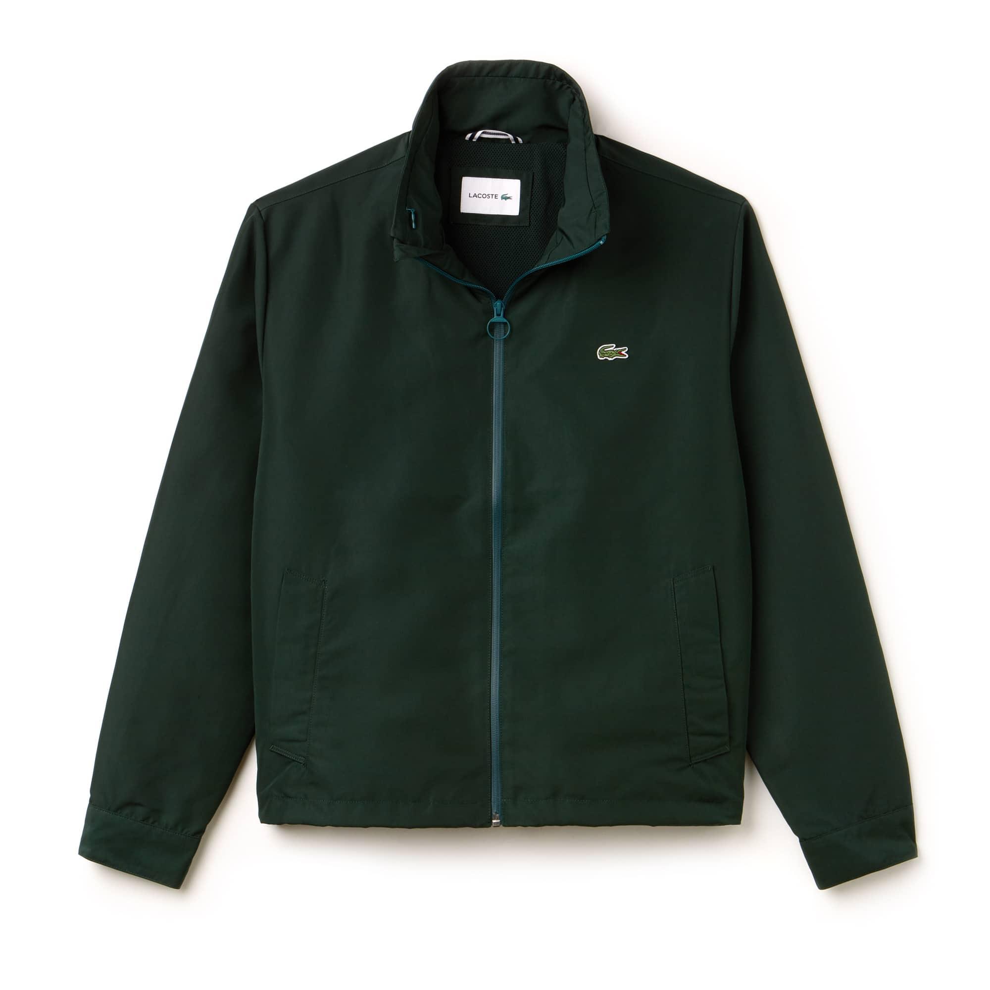 Men's Concealed Hood Lightweight Taffeta Jacket