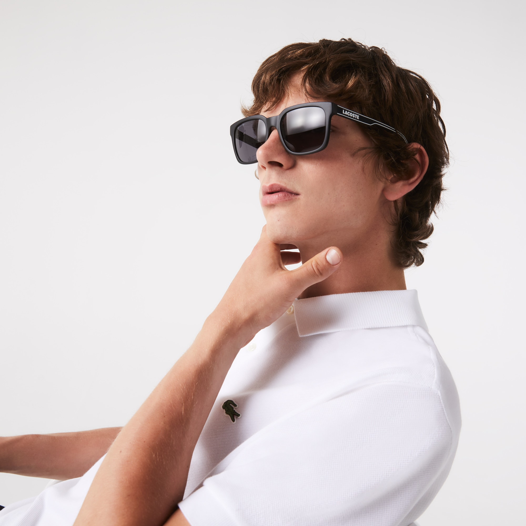 18cfe330ba Men s Plastic Square L.12.12 Sunglasses