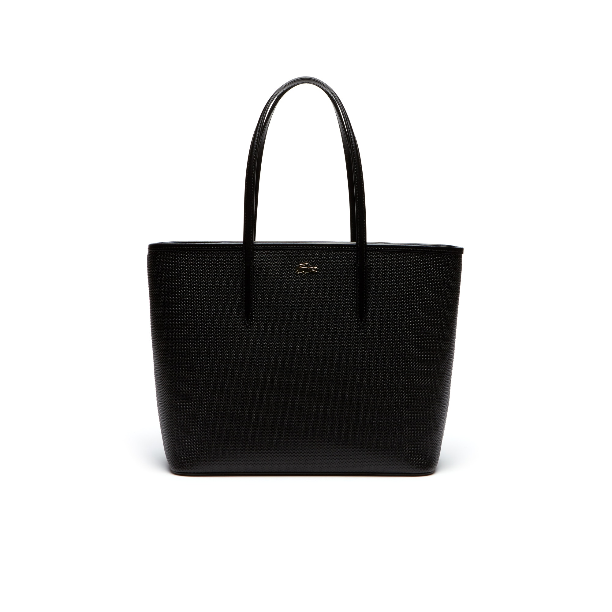 Women's Chantaco Piqué Leather Tote Bag | LACOSTE
