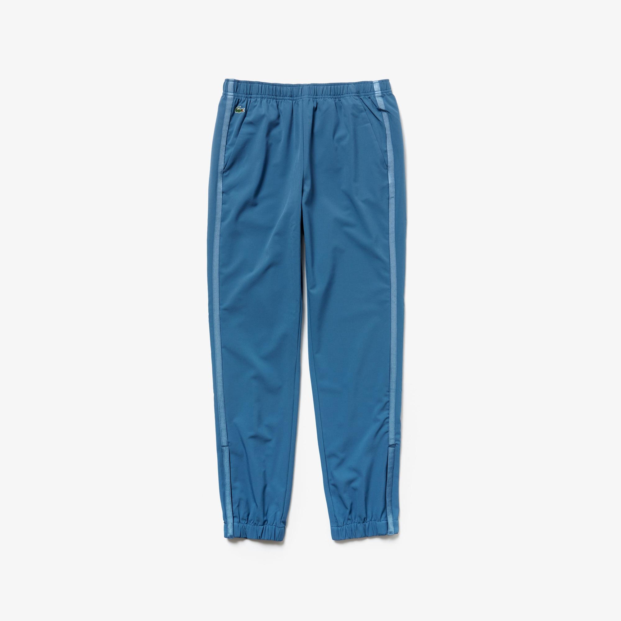 라코스테 Lacoste Womens SPORT Water-Resistant Tennis Sweatpants,Blue / Blue