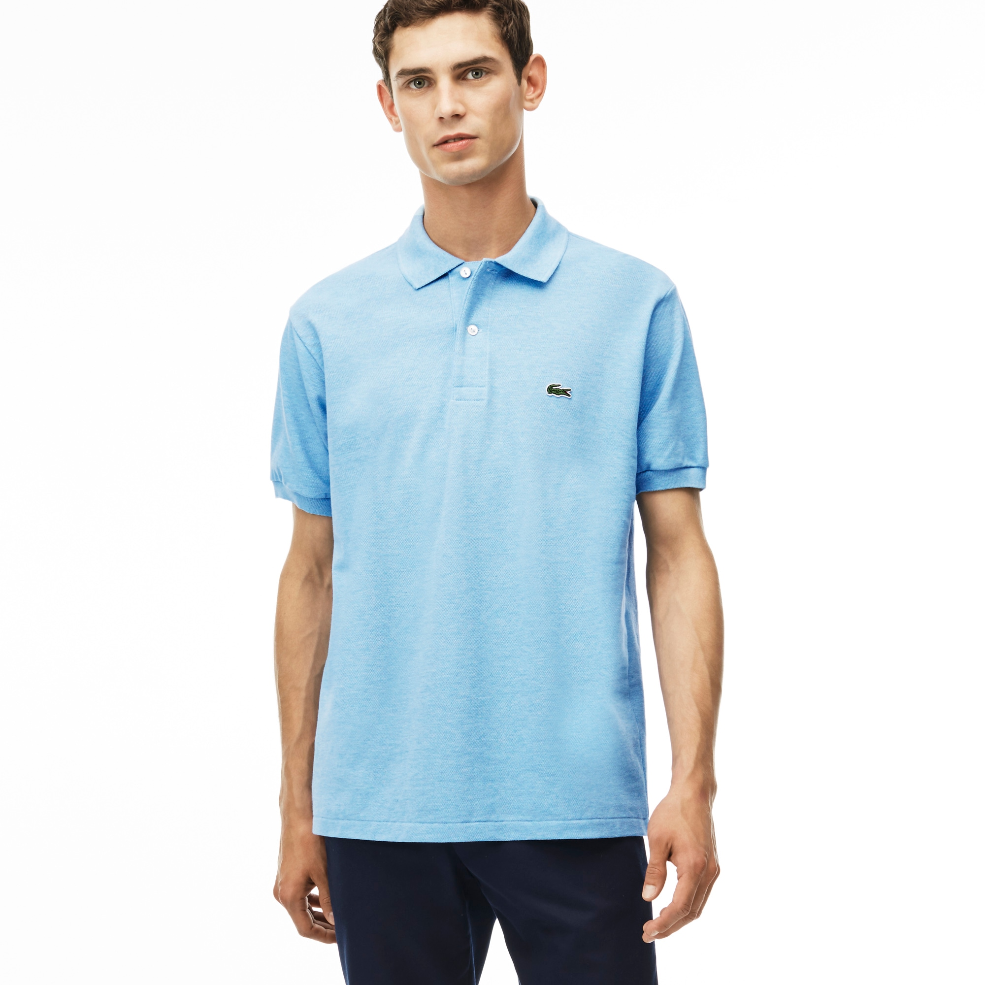 Men 39 s clothing on sale lacoste for Polo shirts for men on sale