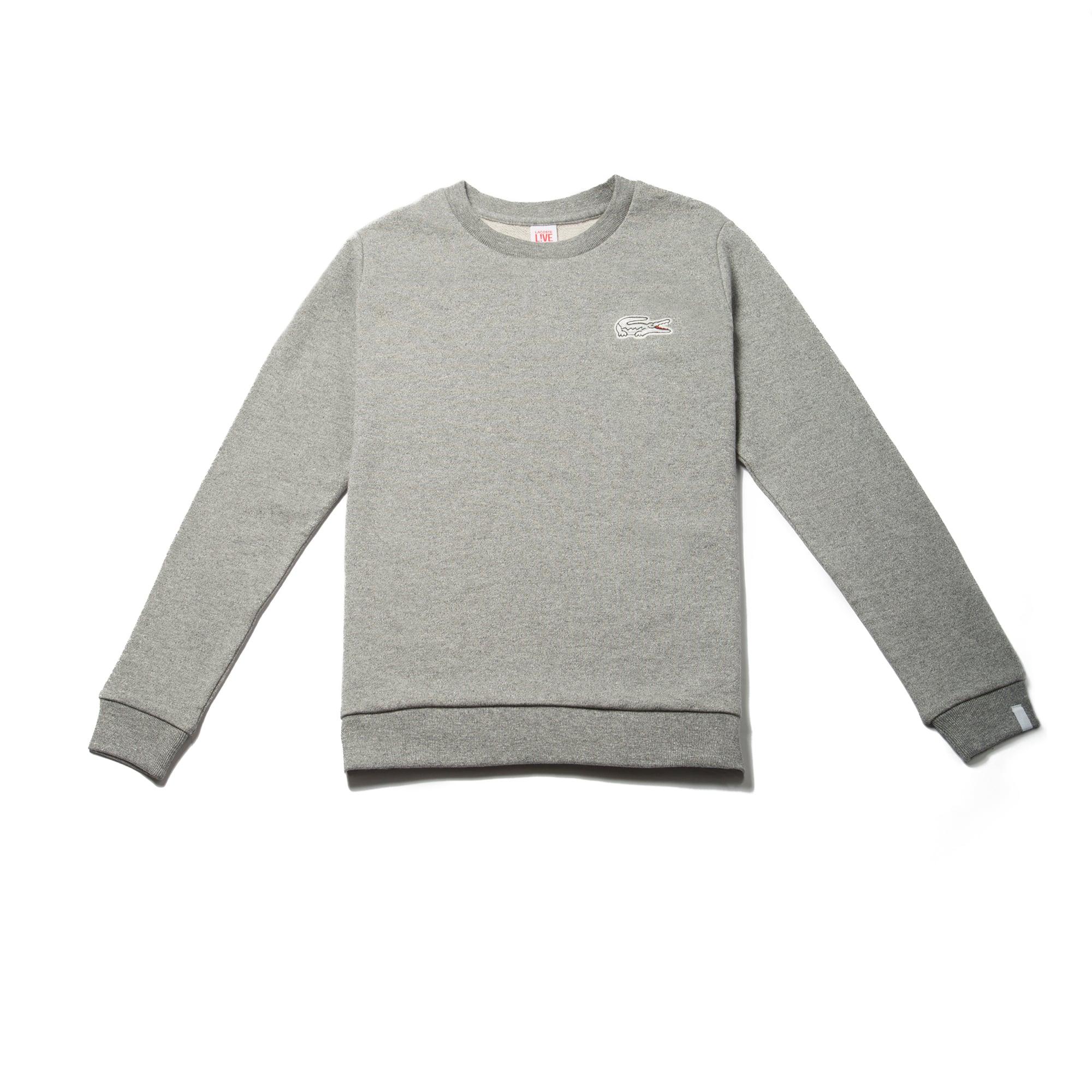 Women's  LIVE Oversized Crocodile Fleece Sweatshirt