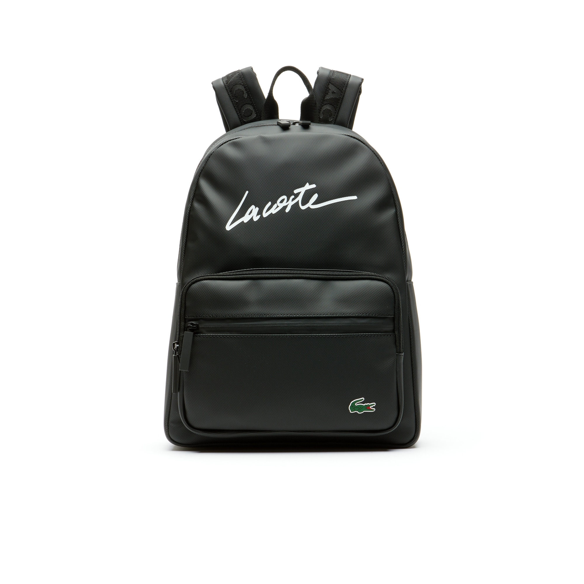 Men's L.12.12 Concept Lettering Petit Piqué Backpack