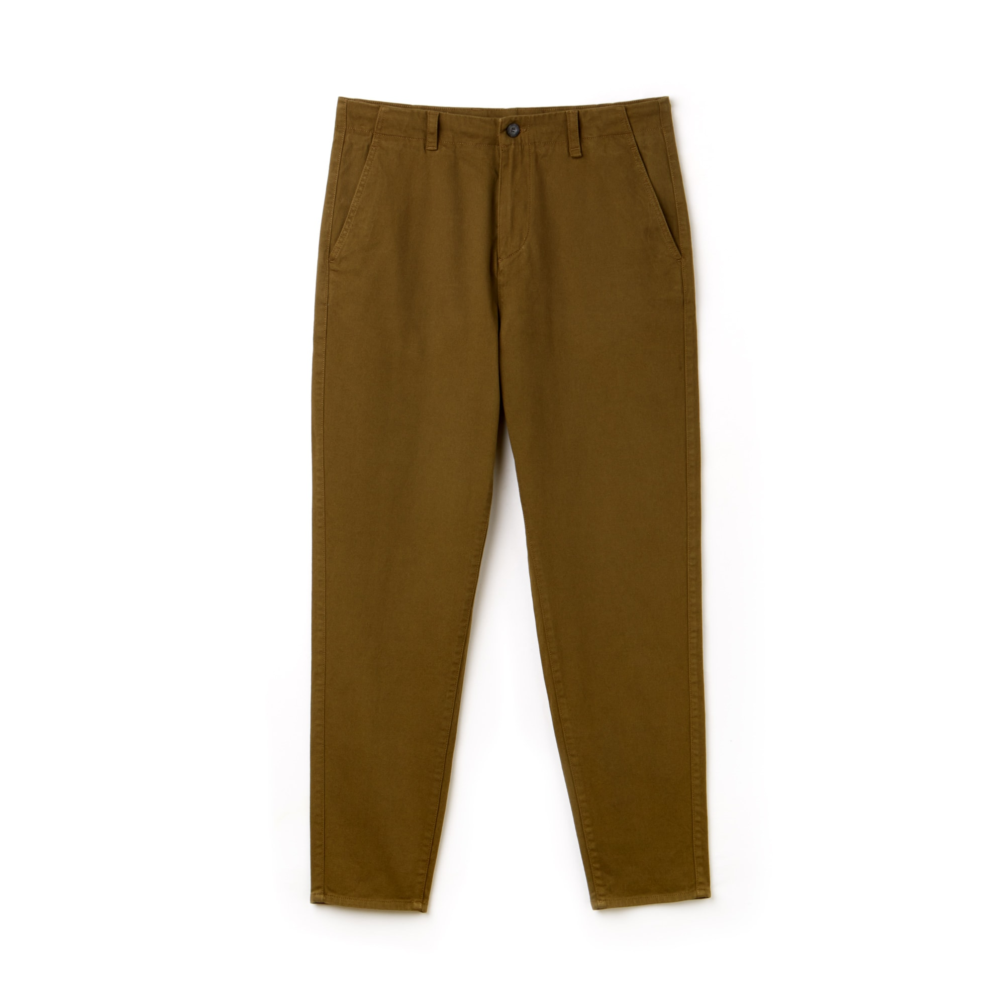Men's Boxy Fit Texturized Stretch Cotton Twill Chino Pants